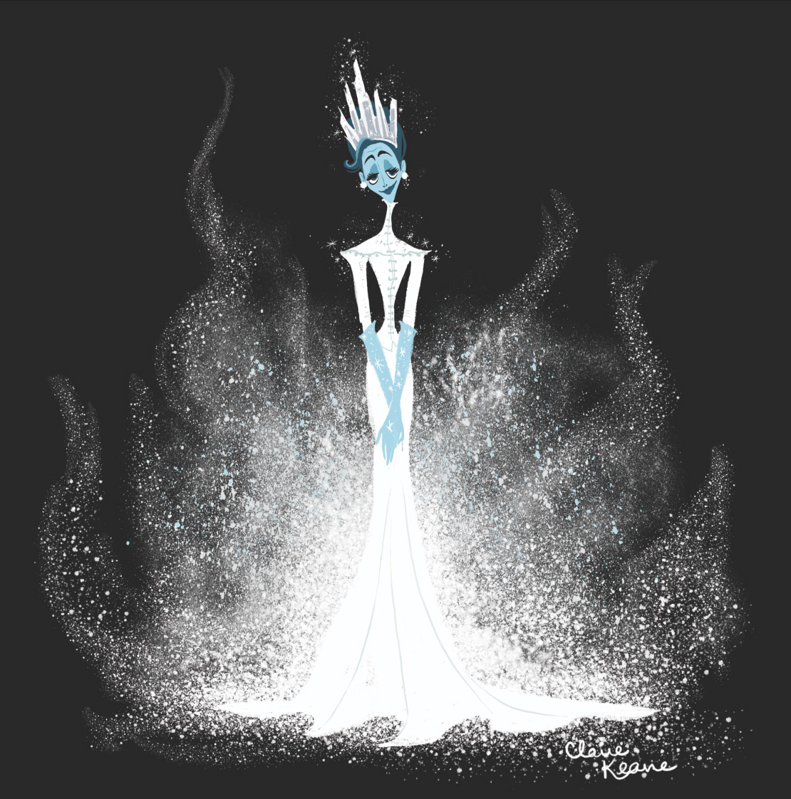 "SNOW QUEEN BASED ON ""AUNTIE MAME"" // VISUAL DEVELOPMENT FOR FROZEN"