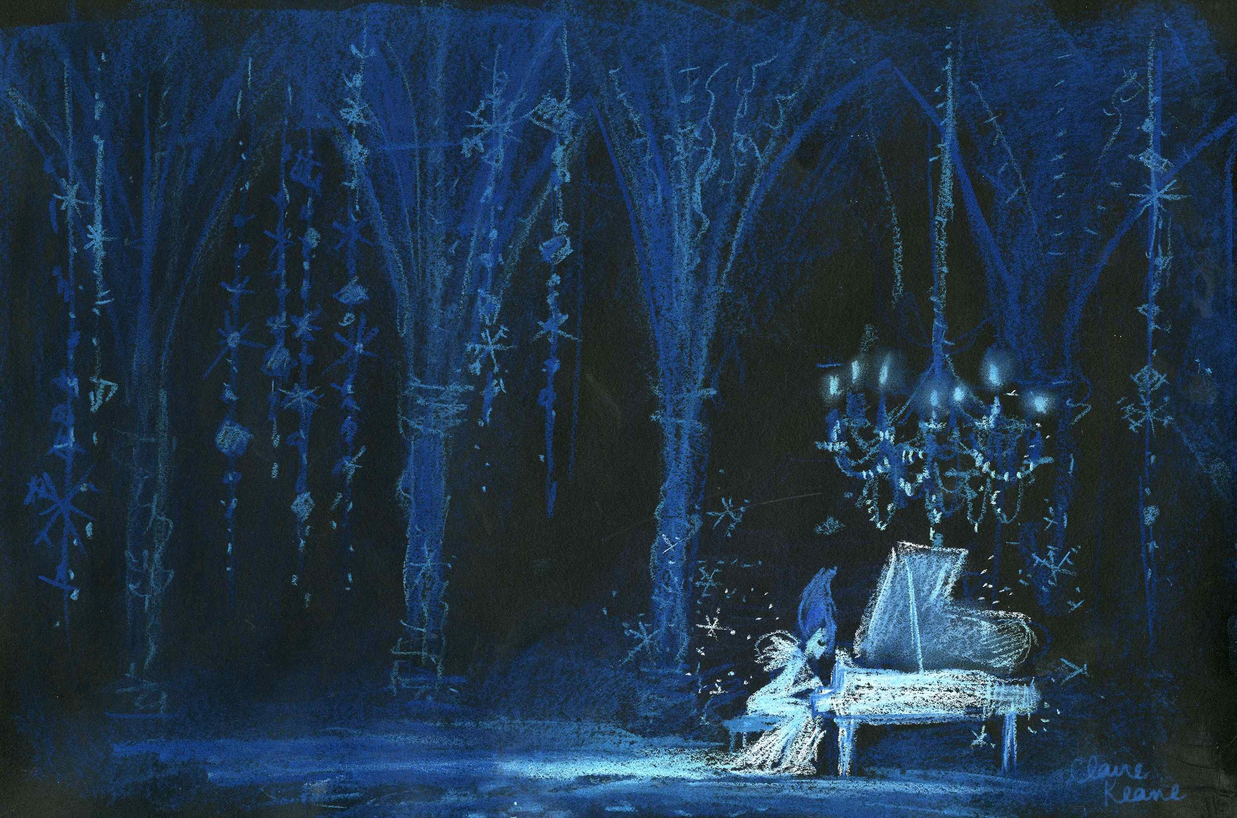 ELSA SINGING THE BLUES // VISUAL DEVELOPMENT FOR FROZEN
