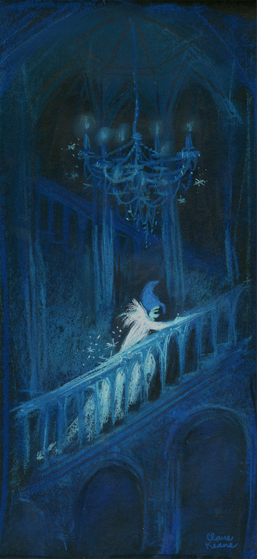 ELSA ALONE IN HER ICE CASTLE  VISUAL DEVELOPMENT FOR FROZEN