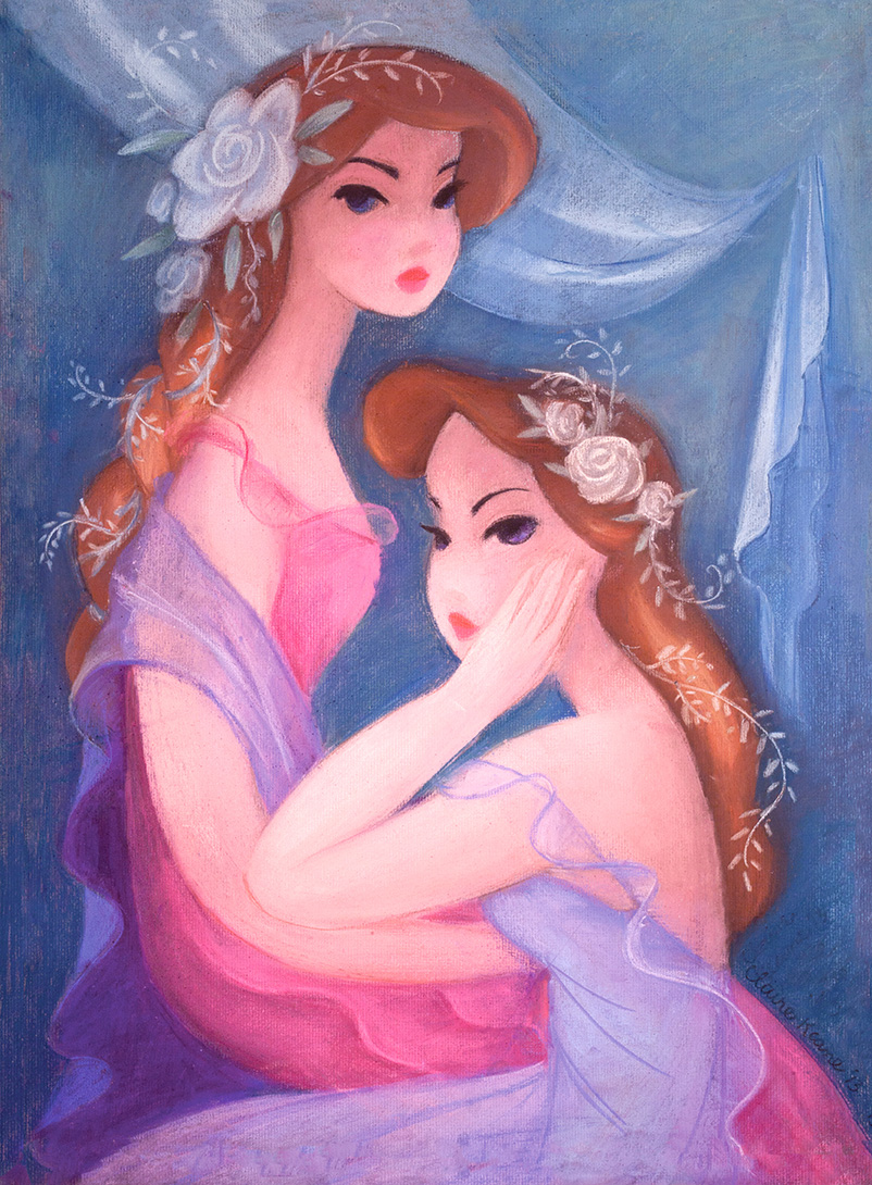 FLORA  PASTEL / LOVELY EXHIBITION AT GALERIE ARLUDIK IN PARIS  CLICK  HERE TO INQUIRE ABOUT ORIGINAL   PRINTS AVAILABLE HERE