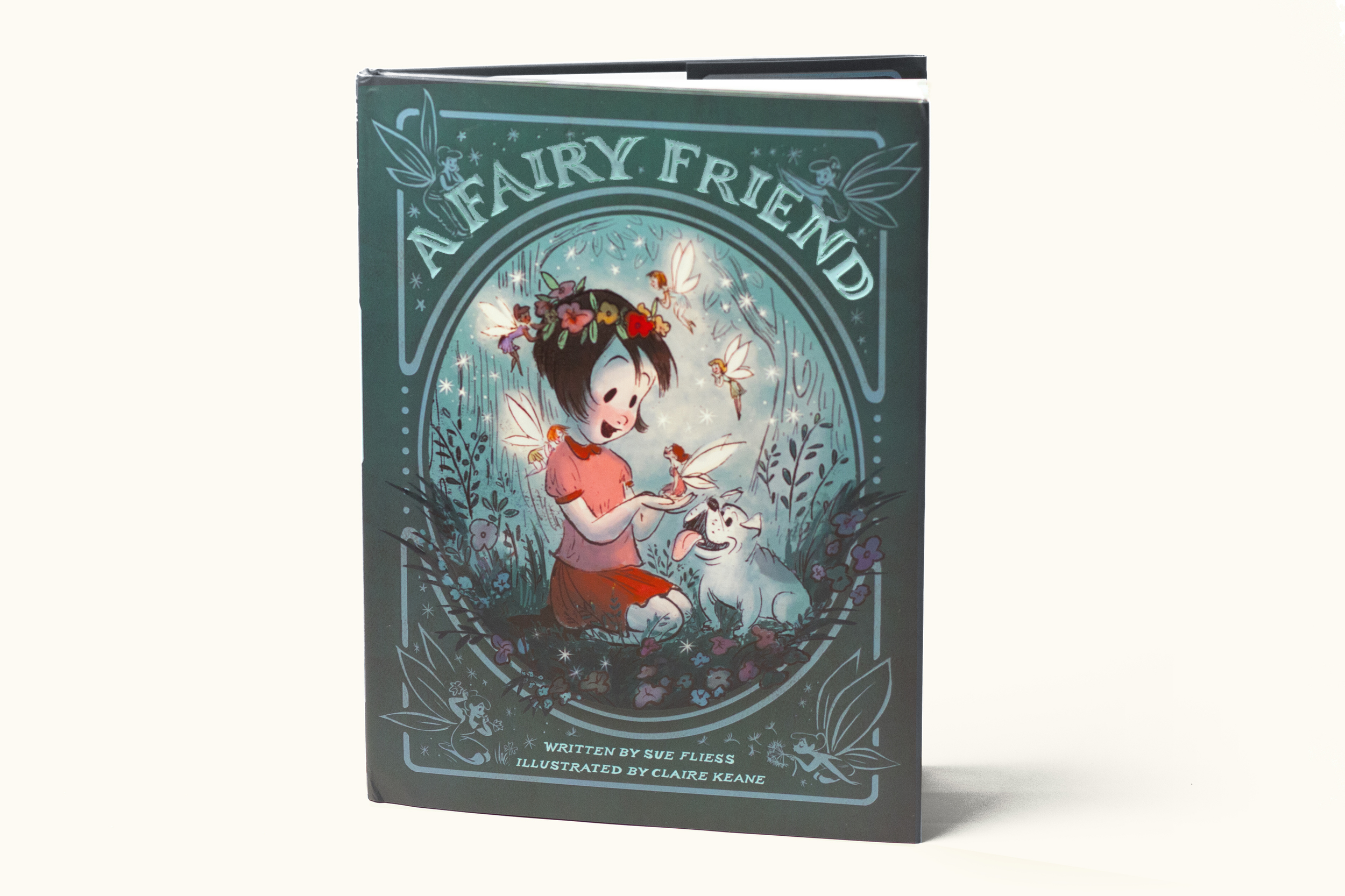 A Fairy Friend    Written by Sue Fliess, Illustrated by Claire Keane (Holt/MacMillan, 2016)