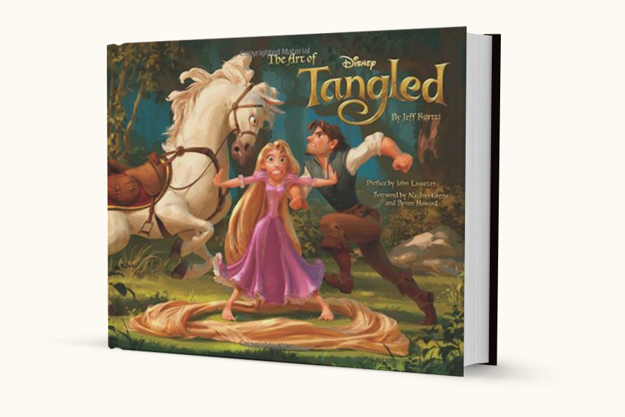 The Art of Tangled  by Jeff Kurti (Chronicle Books, 2010)