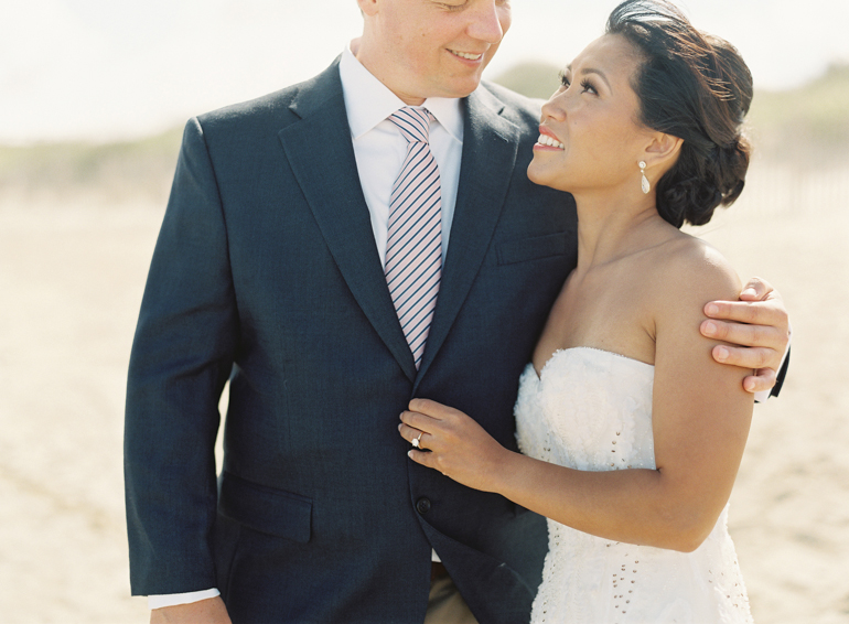 Vicki Grafton Photographer | Duck NC Fine Art Film Wedding Photographer | Sanderling Resort Wedding