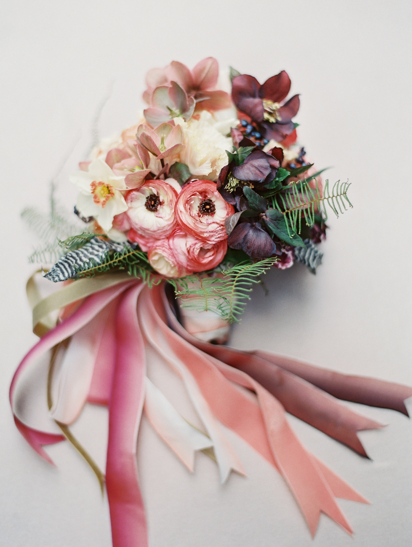 Vicki Grafton Photography | Ariella Chezar Bouquet | NY Fine Art Film Wedding Photographer