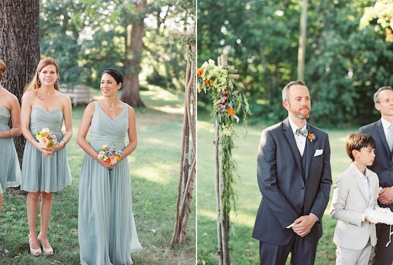 Virginia Fine Art Film Wedding Photographer | Westwood Inn Wedding Ceremony