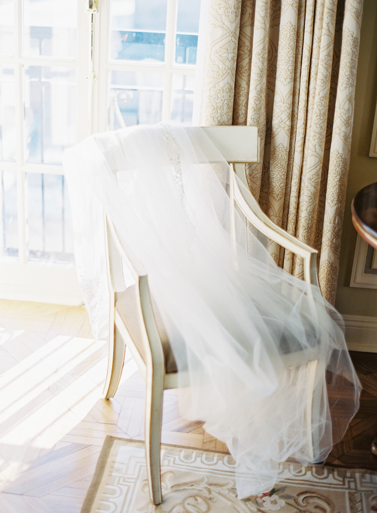 Classic Meridian House DC Wedding   DC Fine Art Film Wedding Photographer    Bride Getting Ready at The Jefferson DC