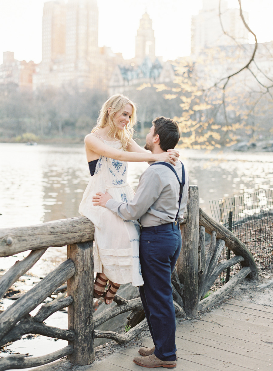 Vicki Grafton Photography | NY Fine Art Film Wedding Photographer | Central Park Engagement
