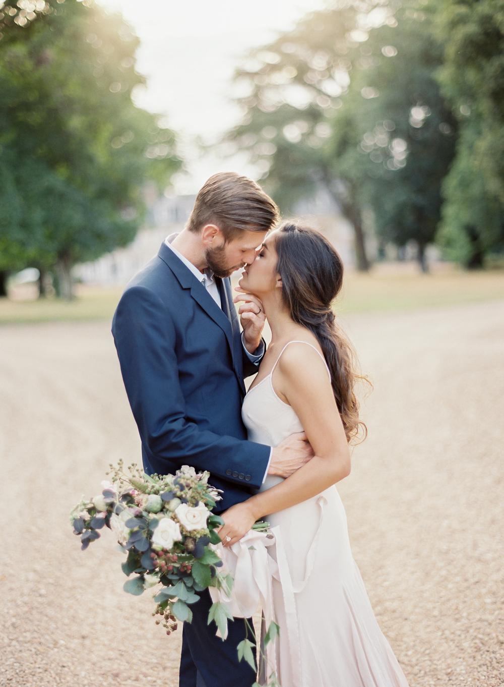 Vicki Grafton Photography Fine Art Film Destination Wedding Photographer | Intimate French Chateau Wedding