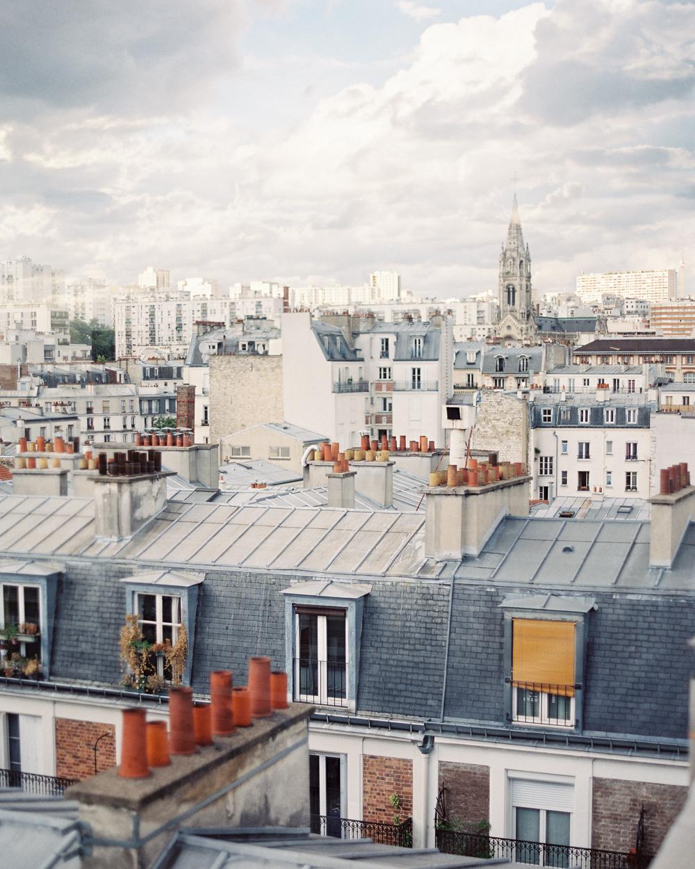 Paris Skyline | Travel Photographer
