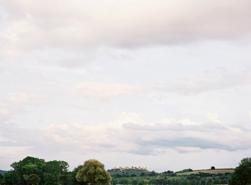 Whitney & Shaun's Intimate Tuscan Wedding | As seen on Style Me Pretty
