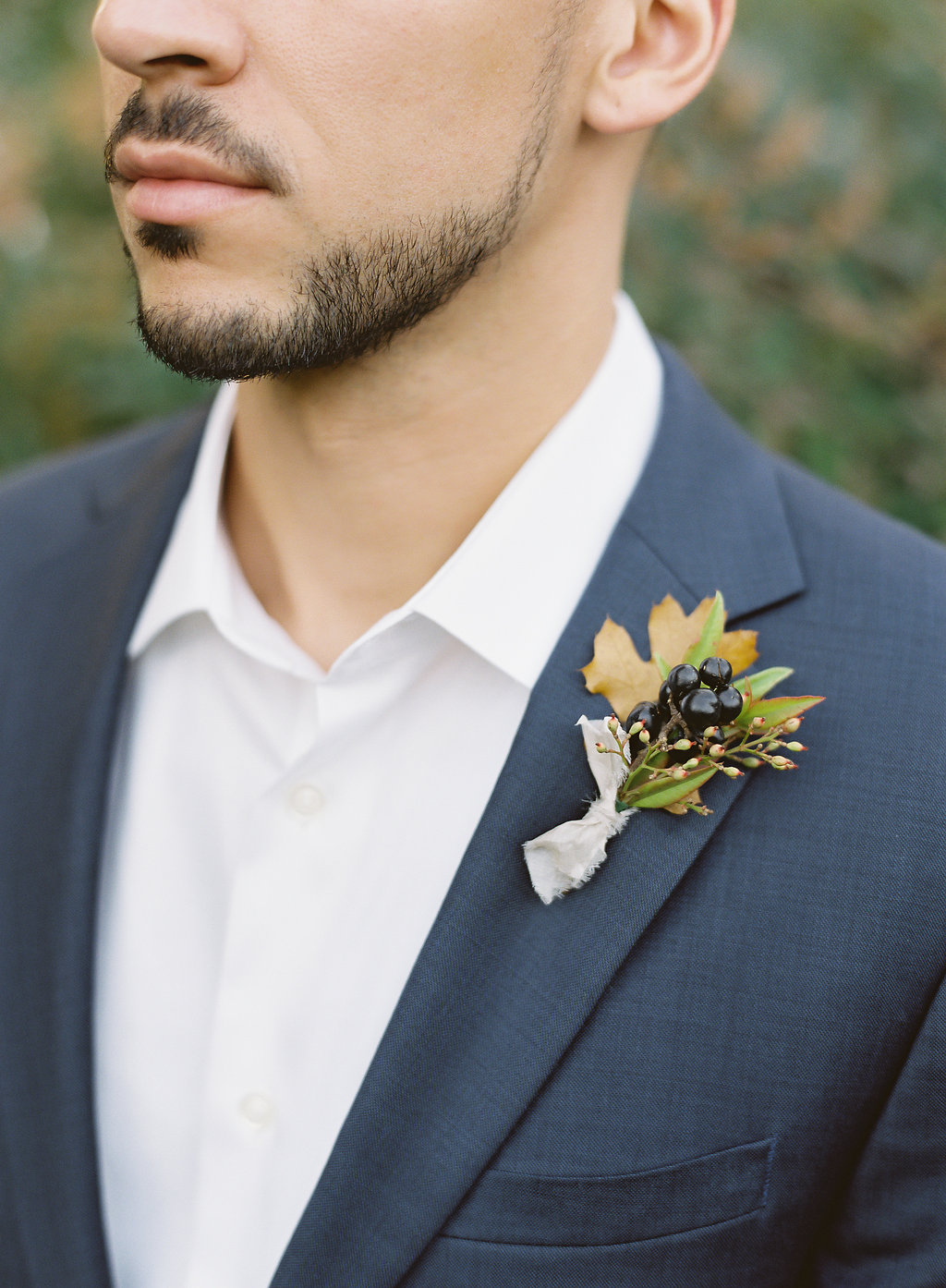 Fine art film photographer photography wedding engagement washington DC georgetown virginia modern destination inspiration tuscan inspired minimal classic timeless california ny groom boutonniere