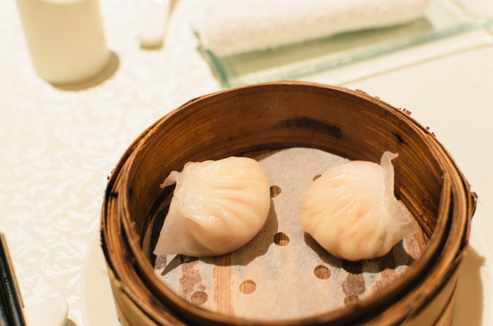 Steamed Shrimp Dumplings (水晶虾饺皇)