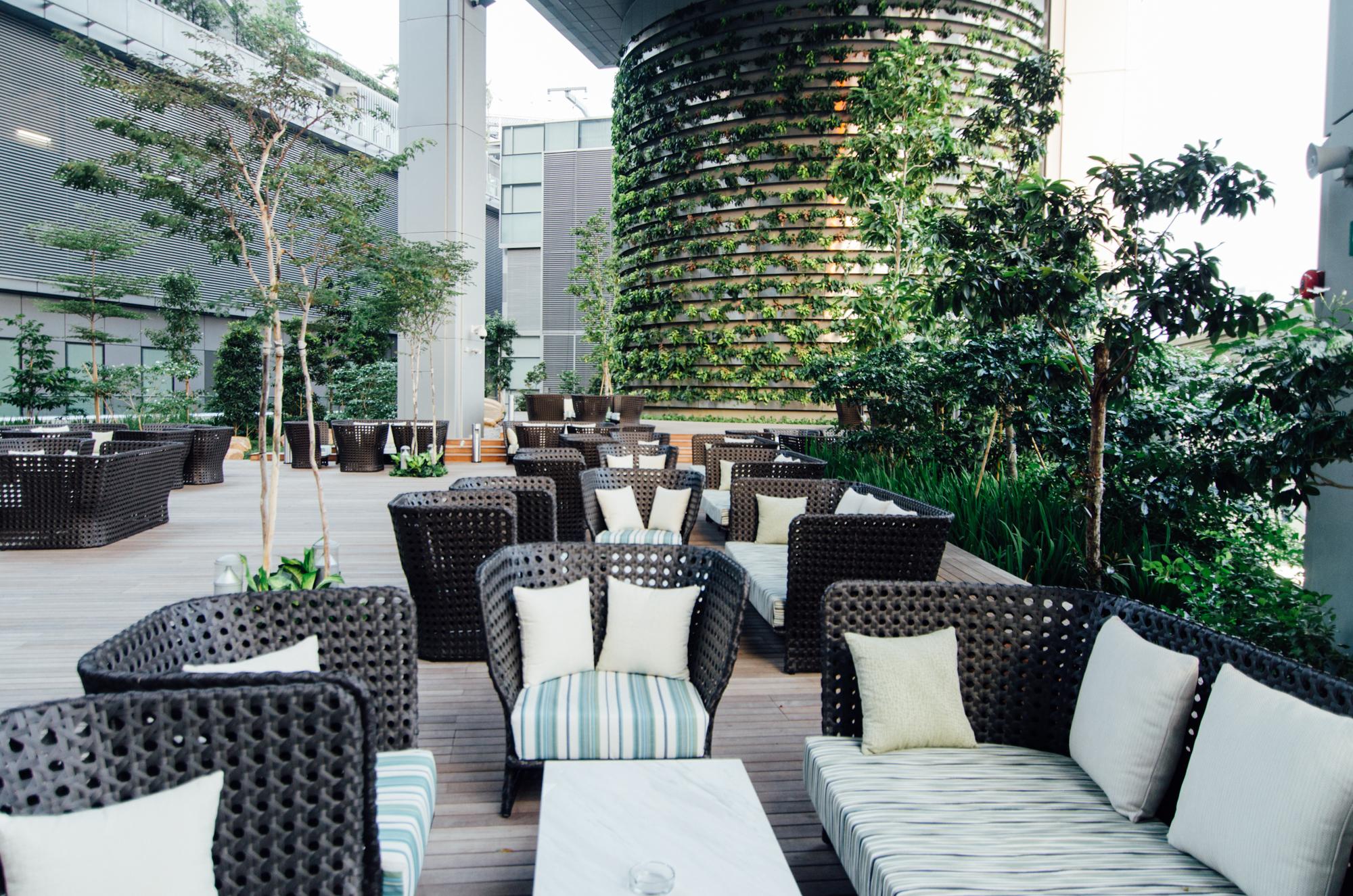 Outdoor Terrace of Makan @ Jen