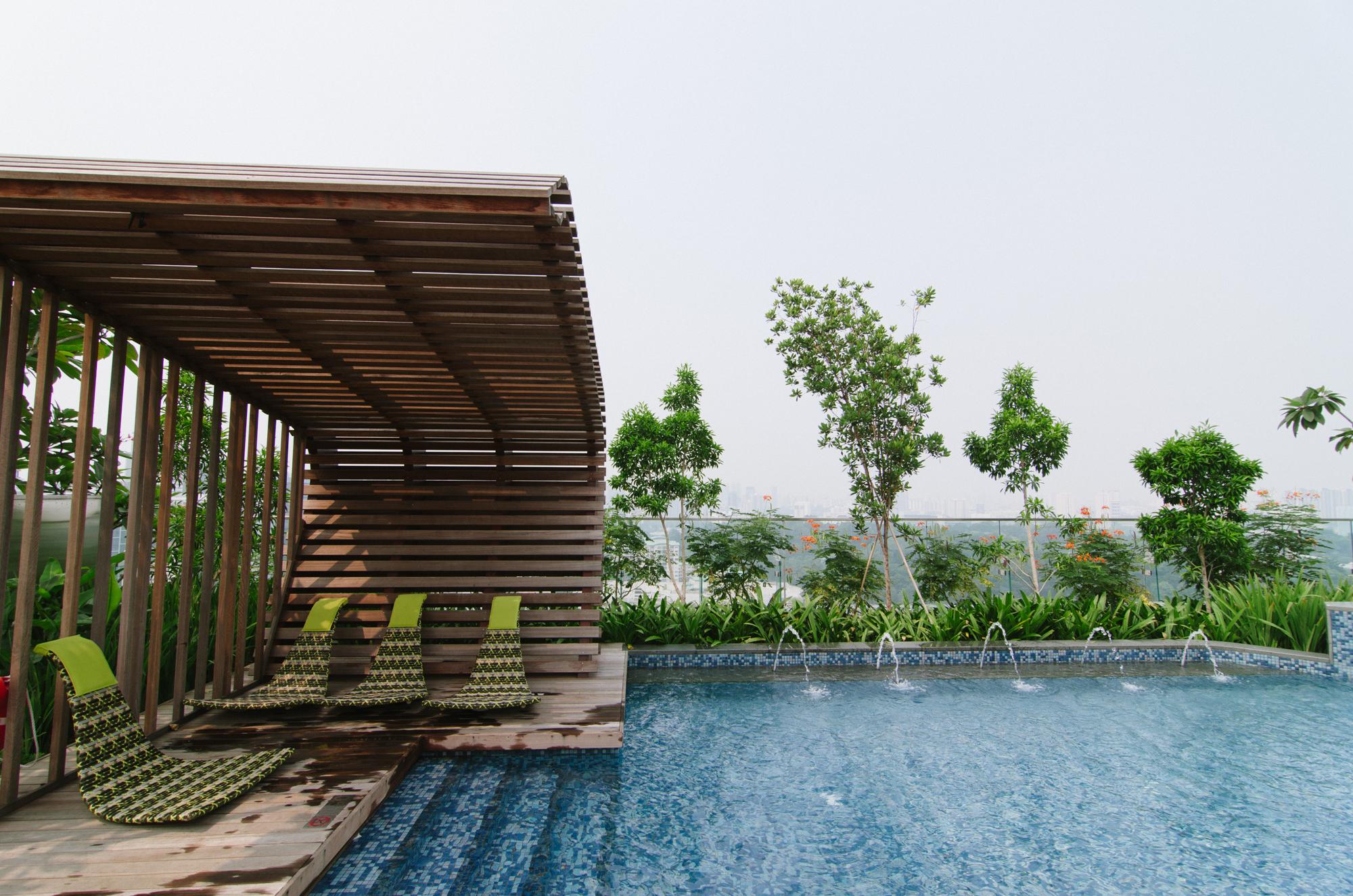 Hotel Jen Orchardgateway Singapore Swimming Pool