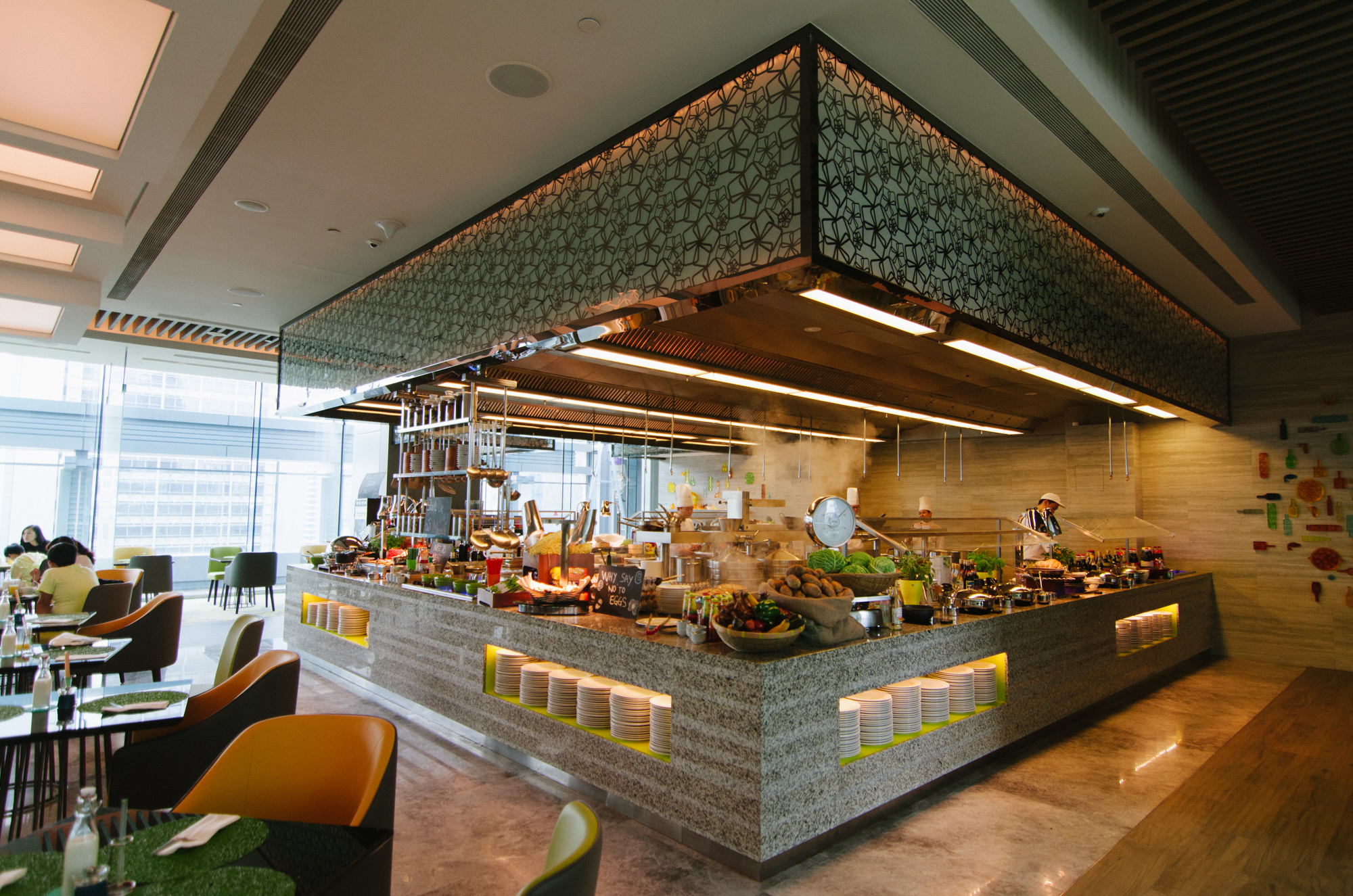 Hotel Jen Orchardgateway Singapore Makan@Jen