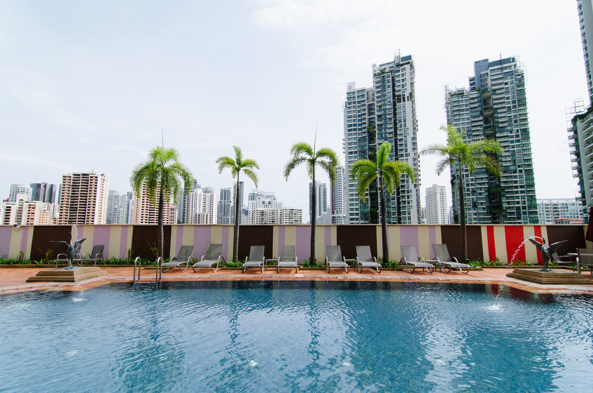 Grand Copthorne Waterfront Singapore - Swimming Pool