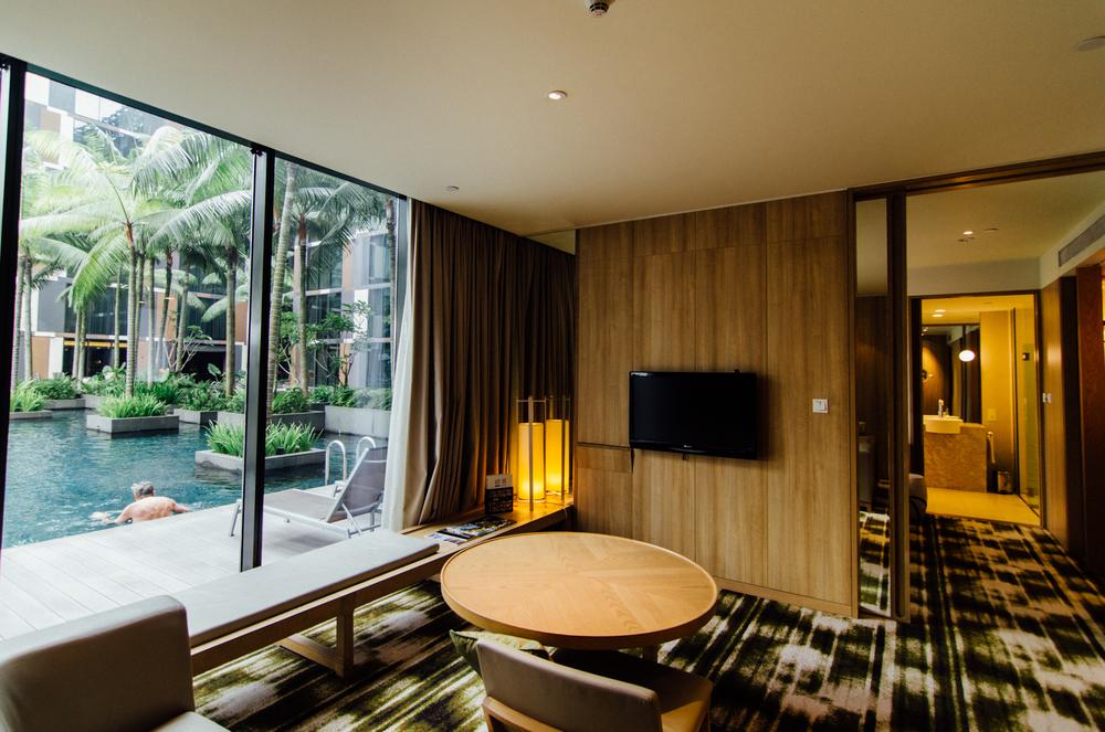 Crowne Plaza Changi Airport - Pool Suite