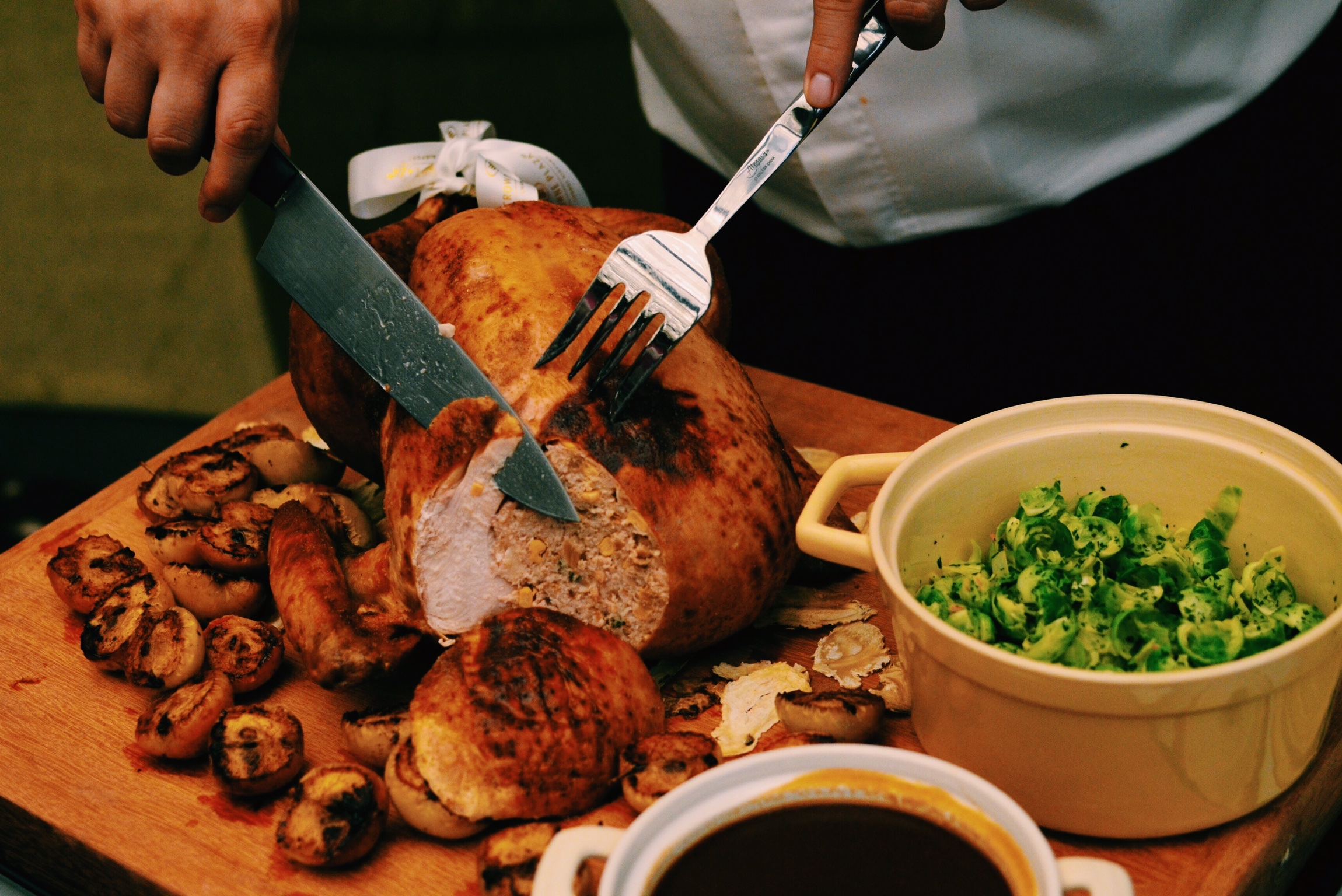 Crowne Plaza Changi Airport Festive Baked Turkey with Angelica Root (S$165+)