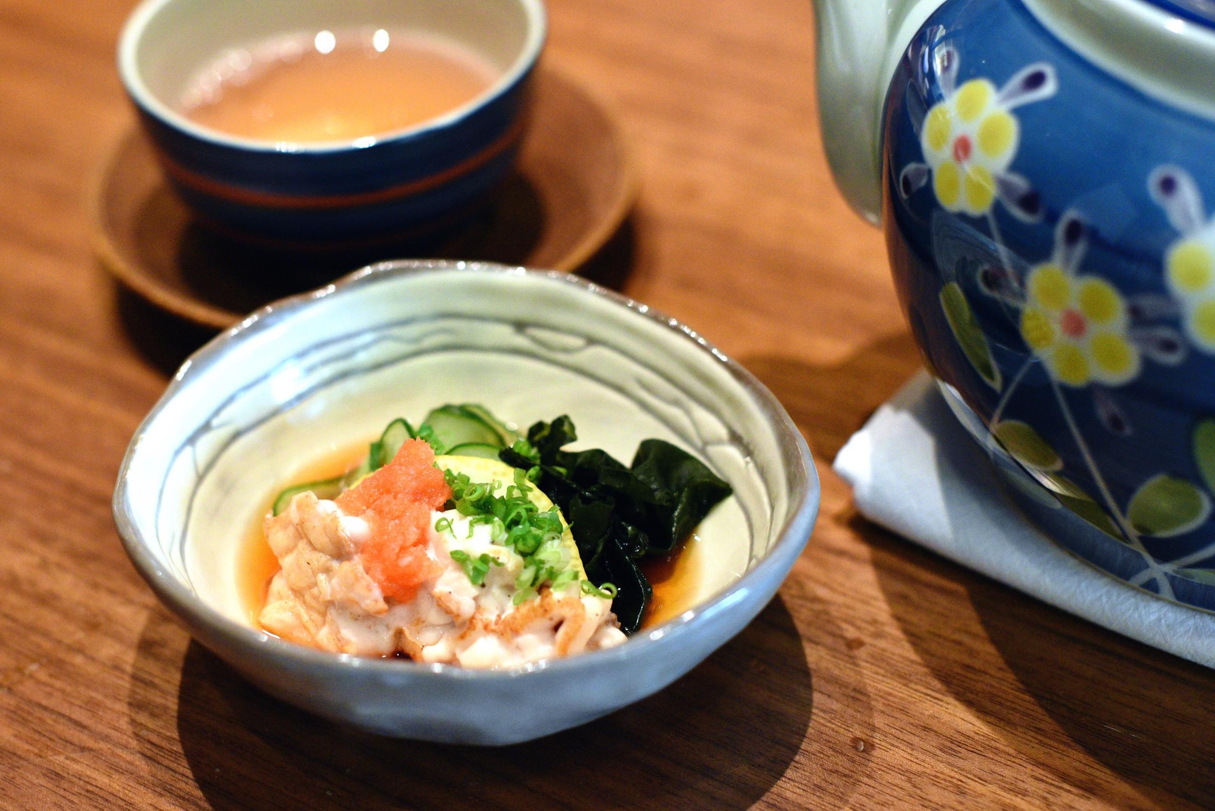 Cod Milt Tofu