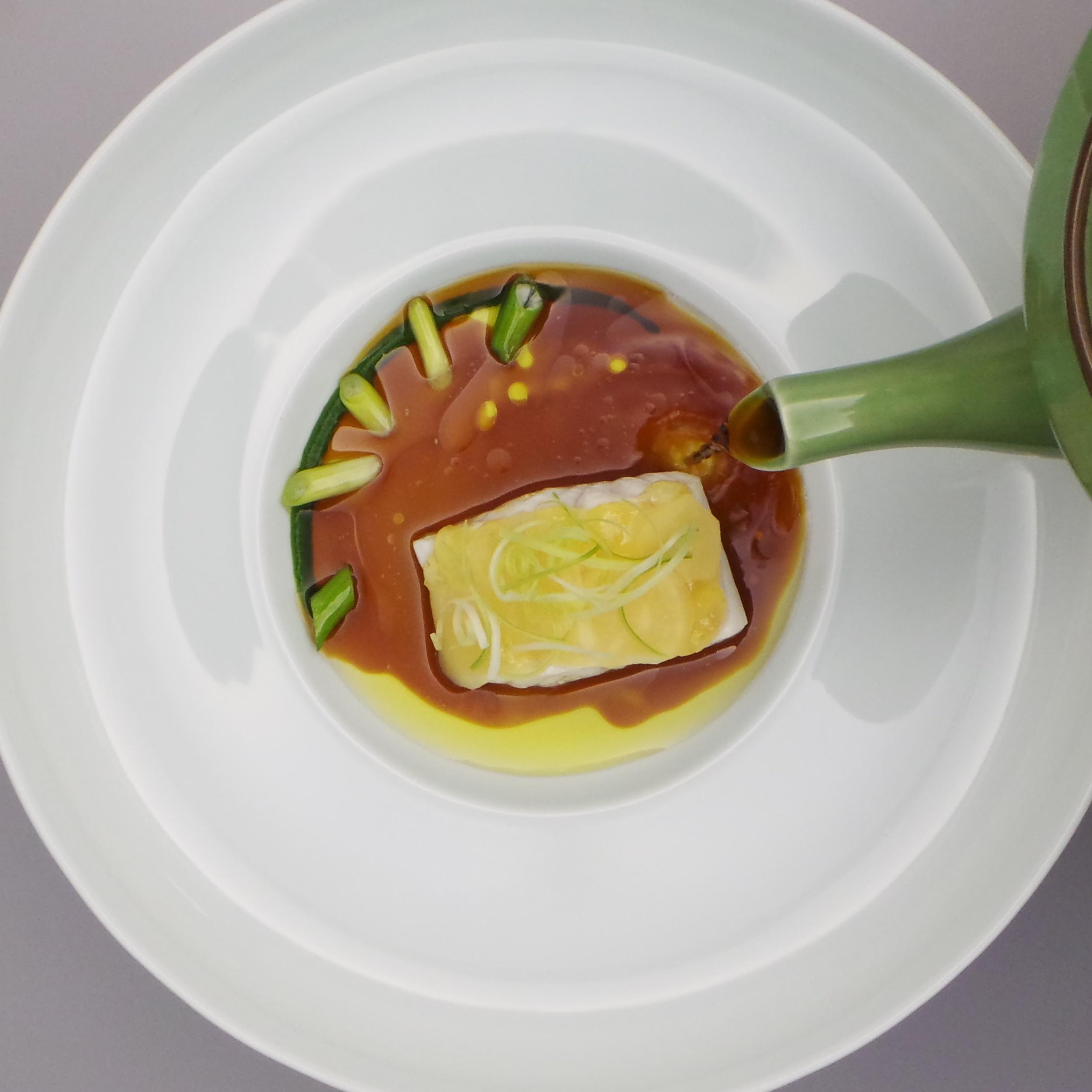 Steamed Fish, 10y Kamebishi Soy Sauce & Leek.jpg