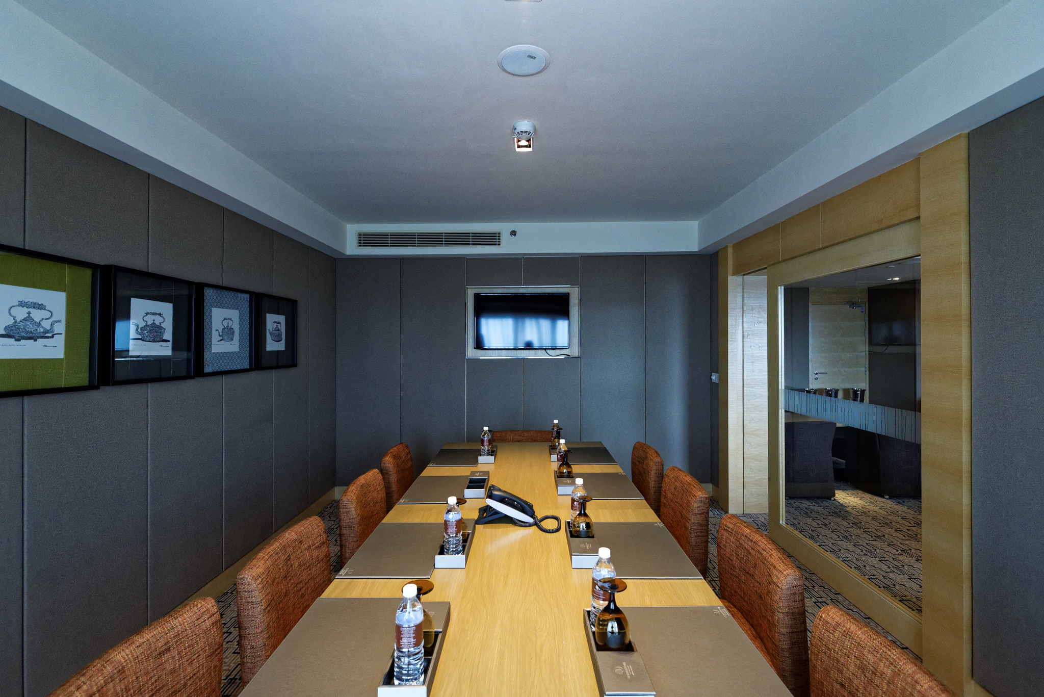 Meeting room in the Executive Lounge of the  Doubletree By Hilton Hotel Johor Bahru