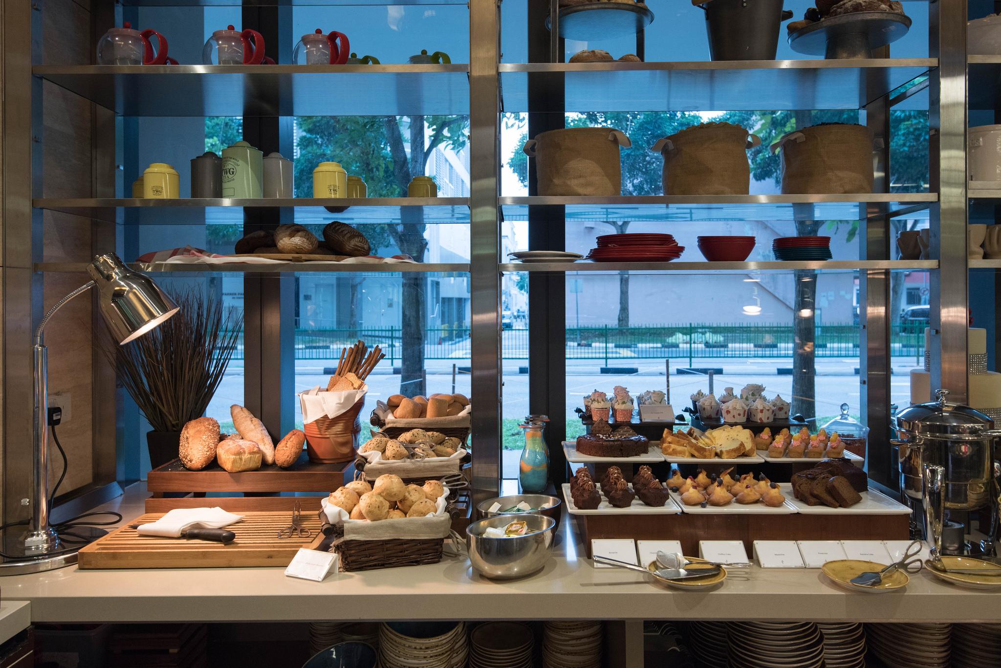 Bread Section -One Farrer Hotel & Spa (Escape Restaurant)