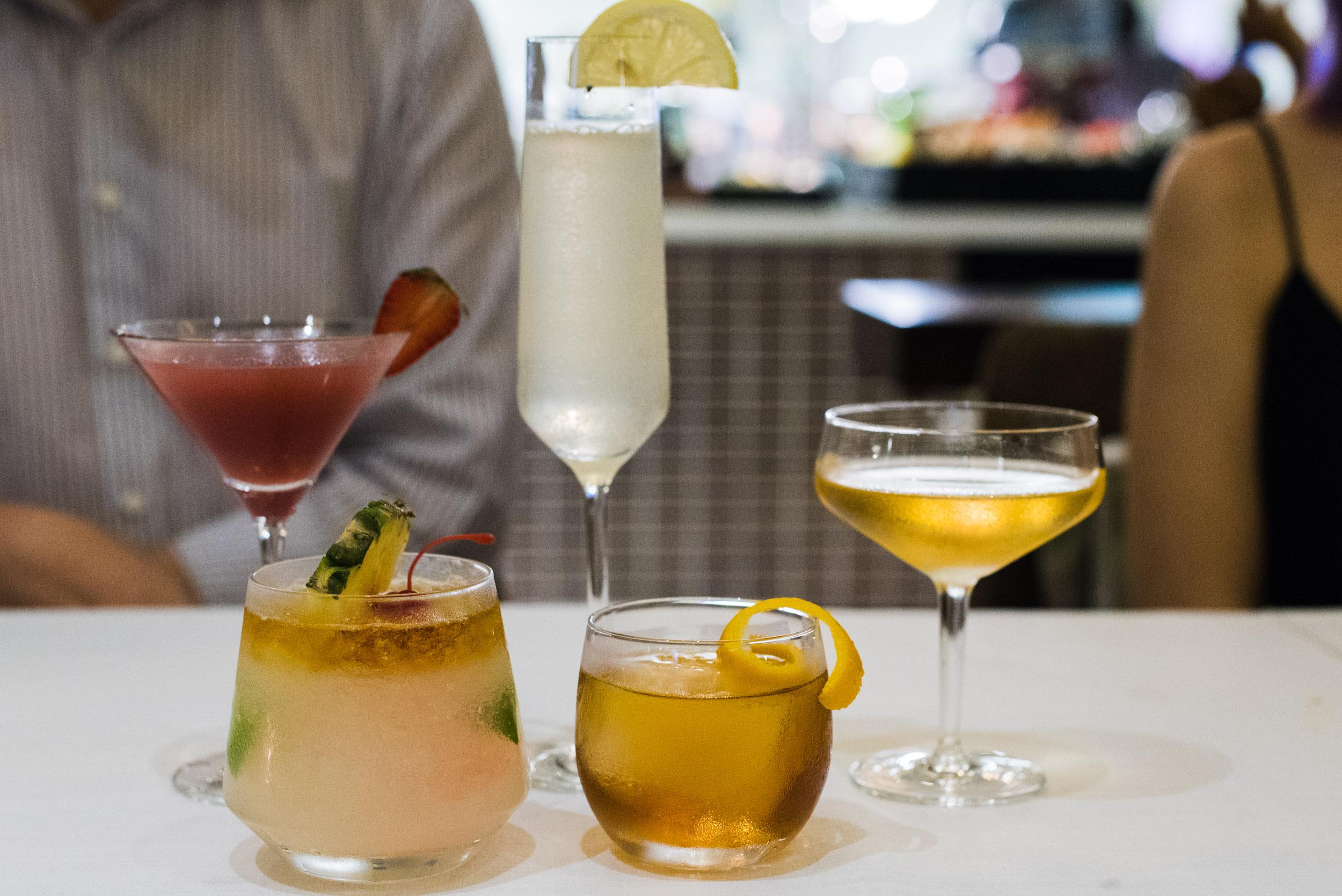 Cocktails - One Farrer Hotel & Spa (Escape Restaurant)