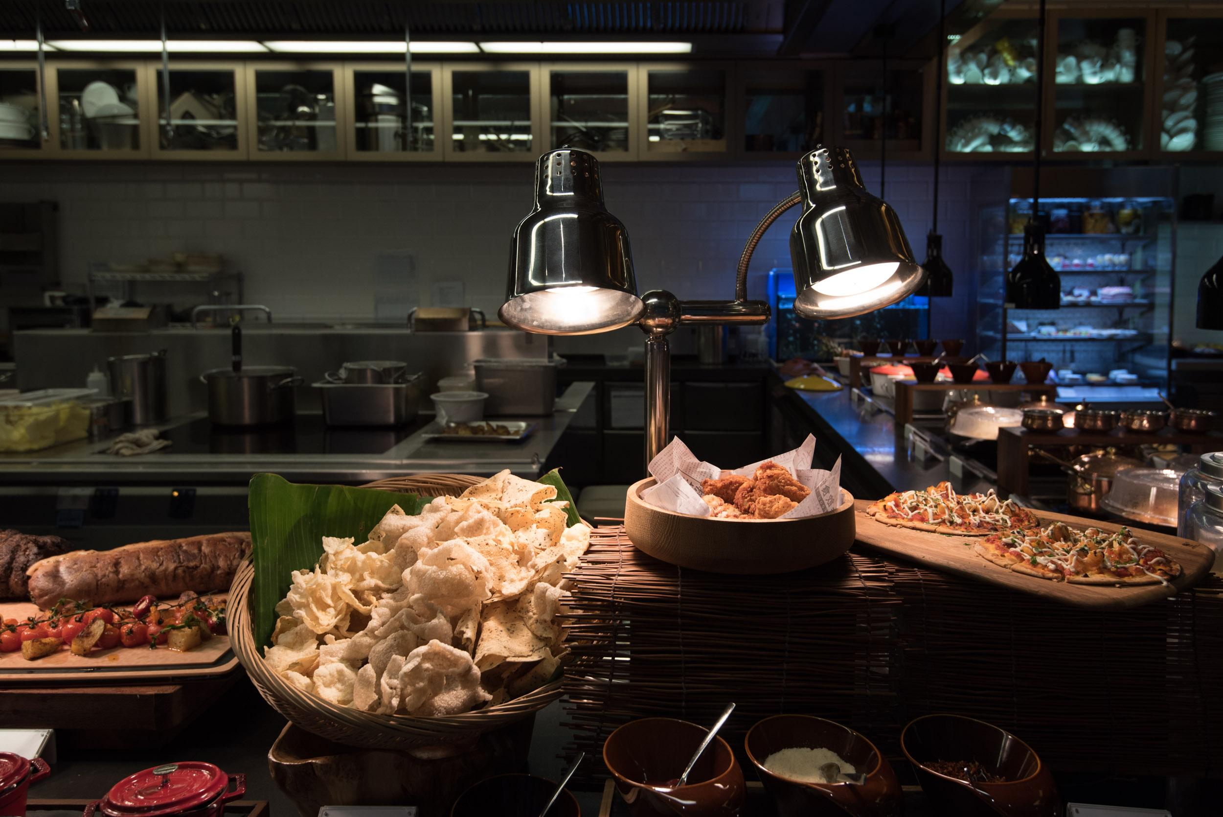 Delicious Finger Food - One Farrer Hotel & Spa (Escape Restaurant)
