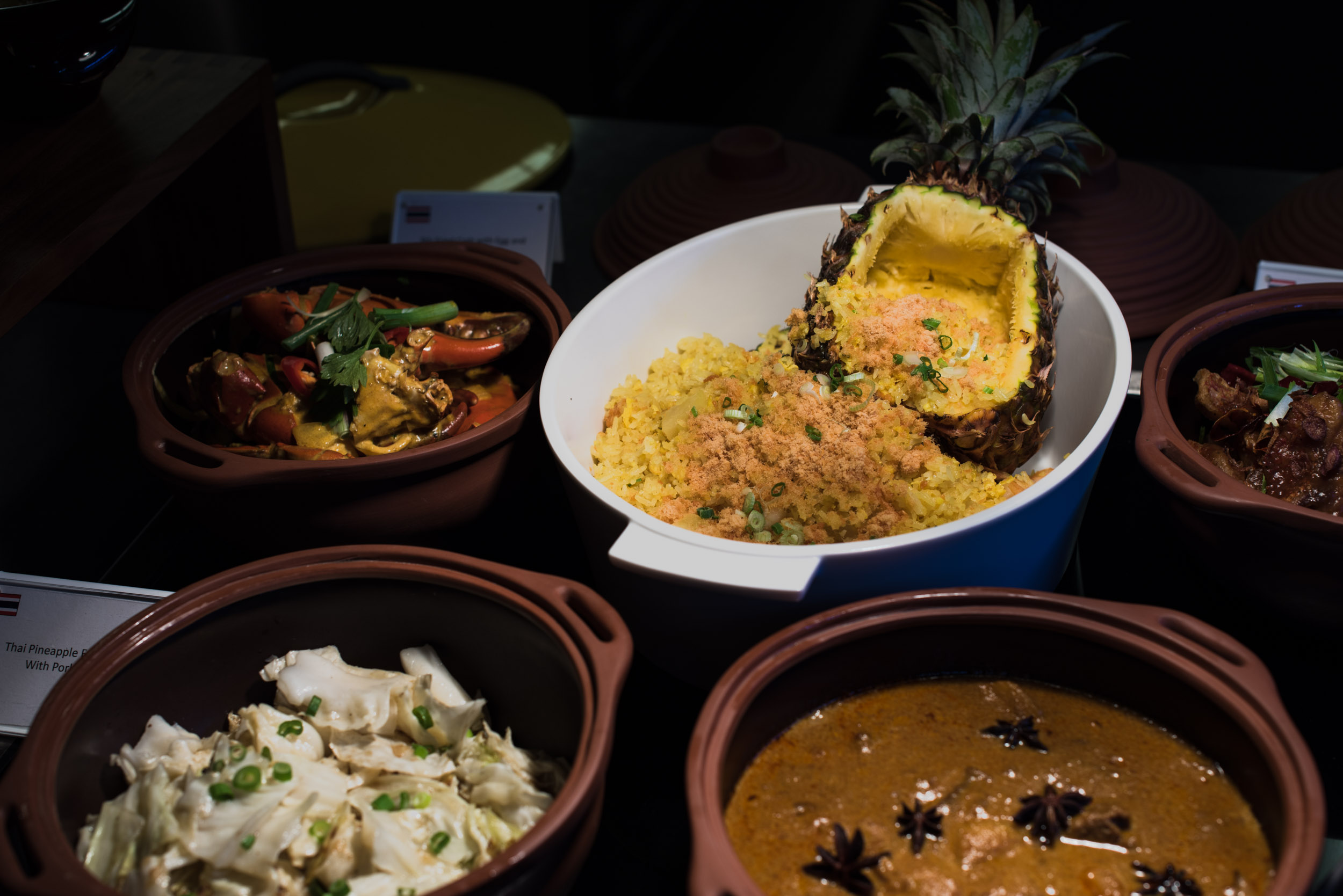 Selection from the Best of Thai Buffet - One Farrer Hotel & Spa (Escape Restaurant)