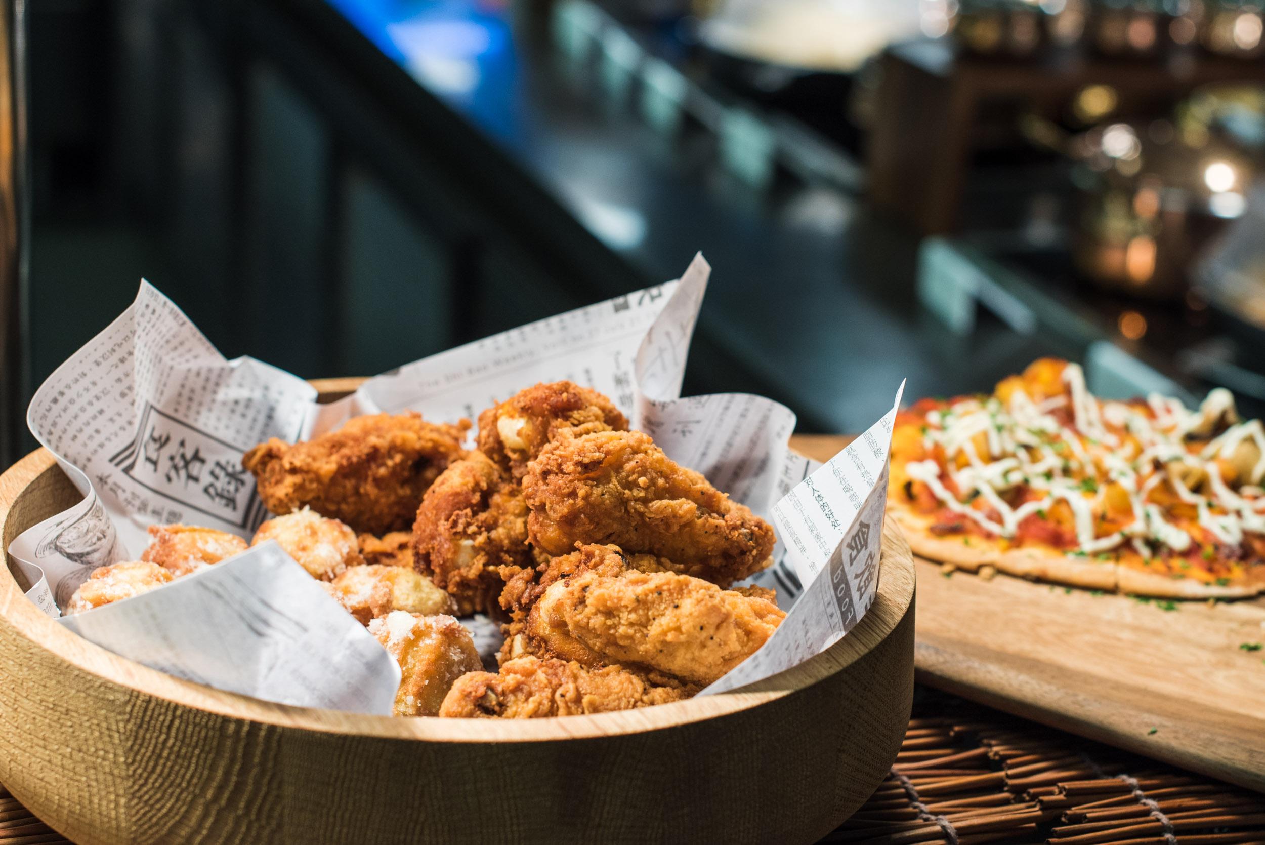 Crispy Chicken Drumlets - One Farrer Hotel & Spa (Escape Restaurant)