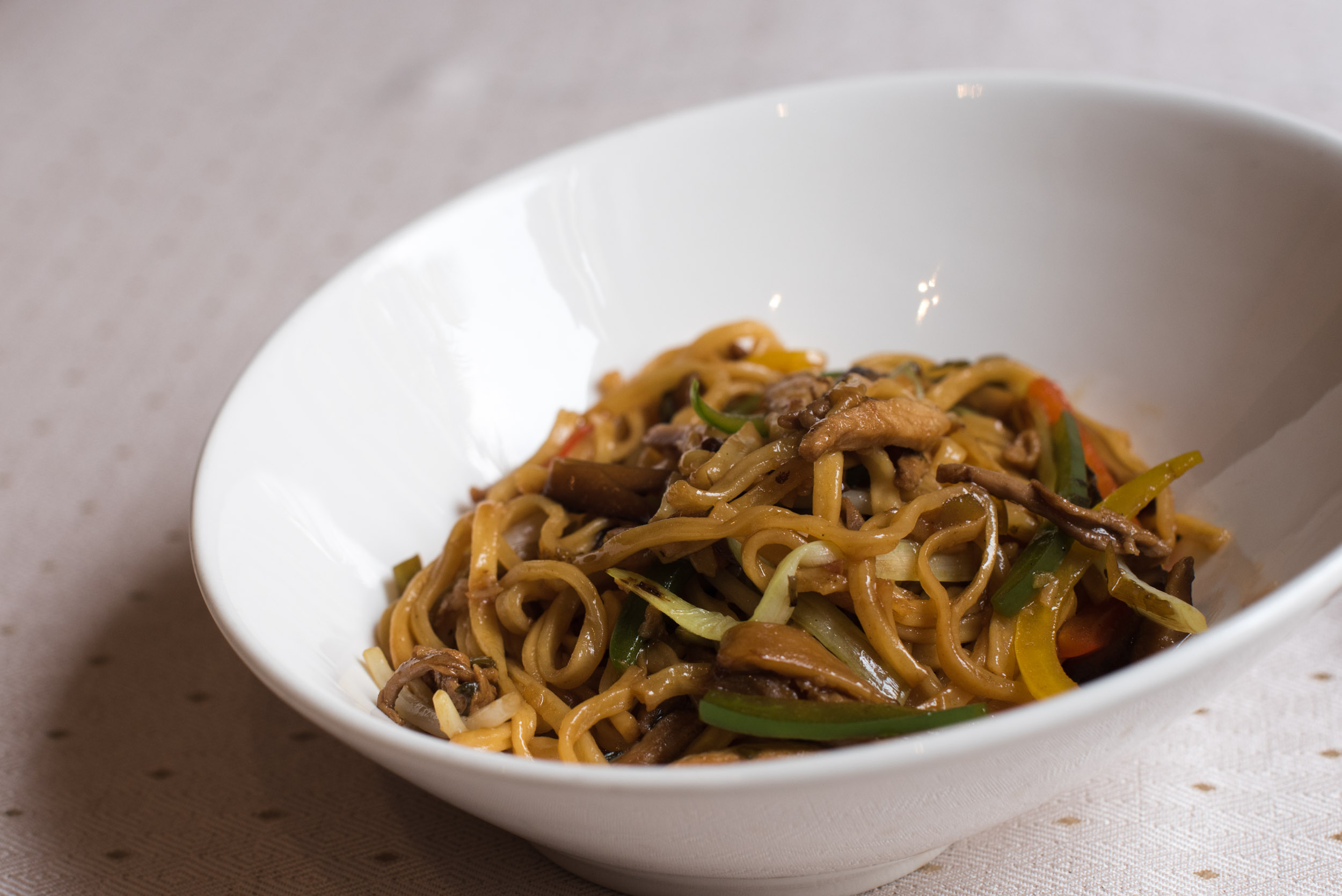 Peking Duck and Noodles