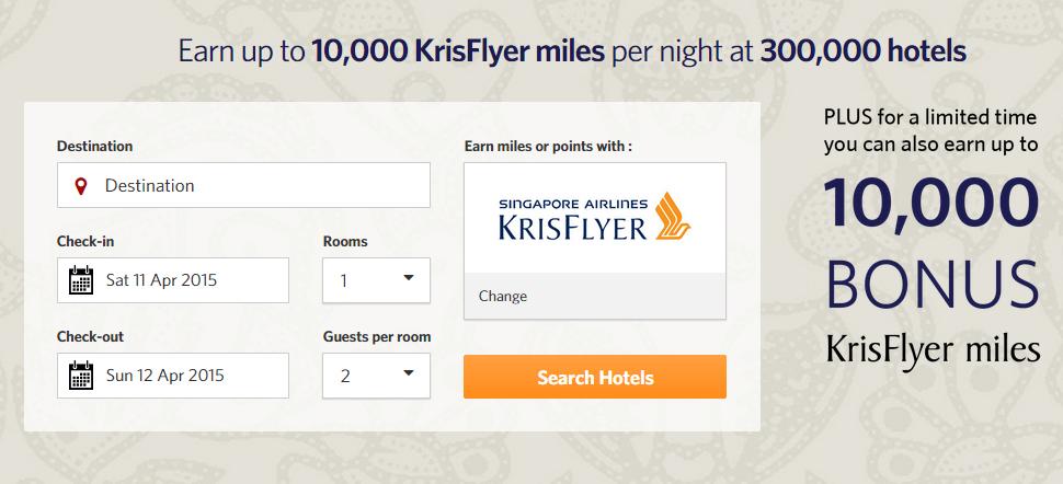 Earn bonus KrisFlyer miles with Kaligo