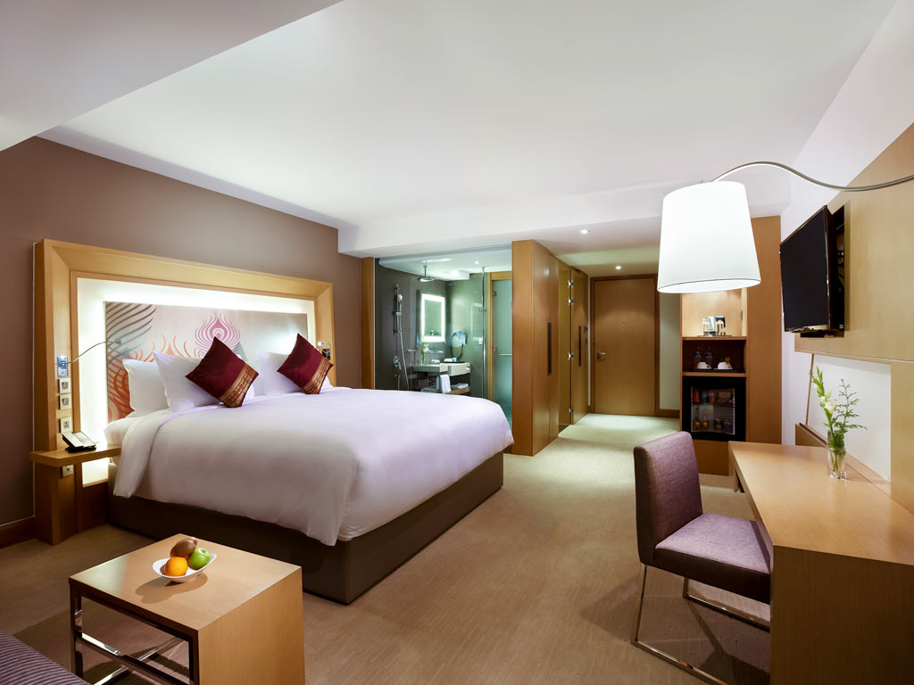 Rooms at the Novotel Yangon Max.  Photo Credit: Novotel Yangon Max