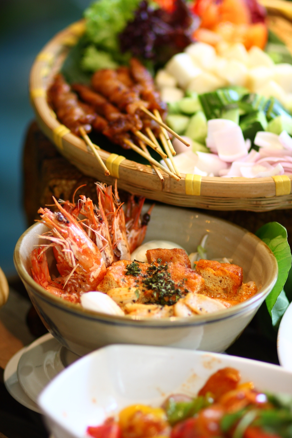 Delightful local food at Orchard Hotel