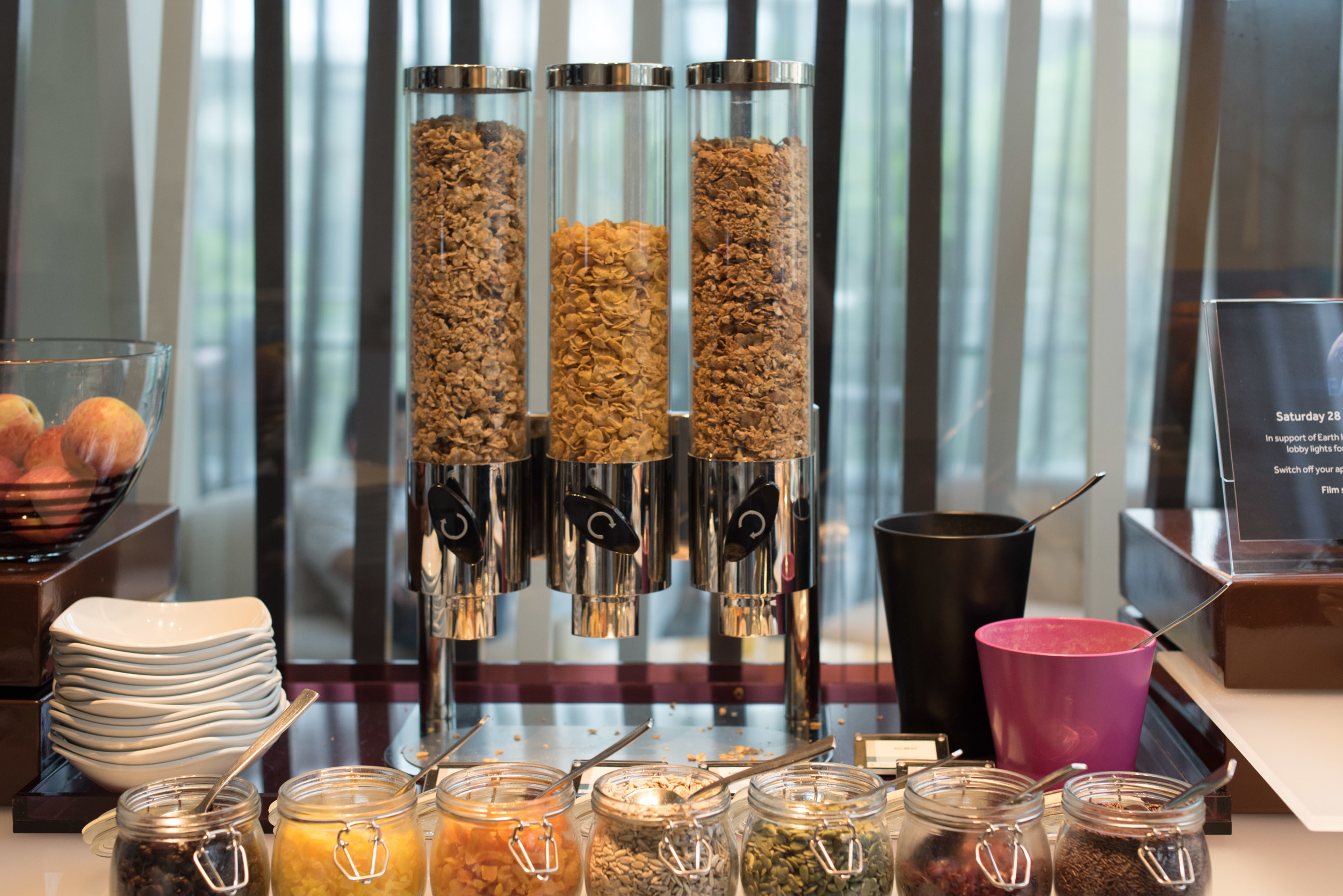 Breakfast Cereal at the Pacific Lounge