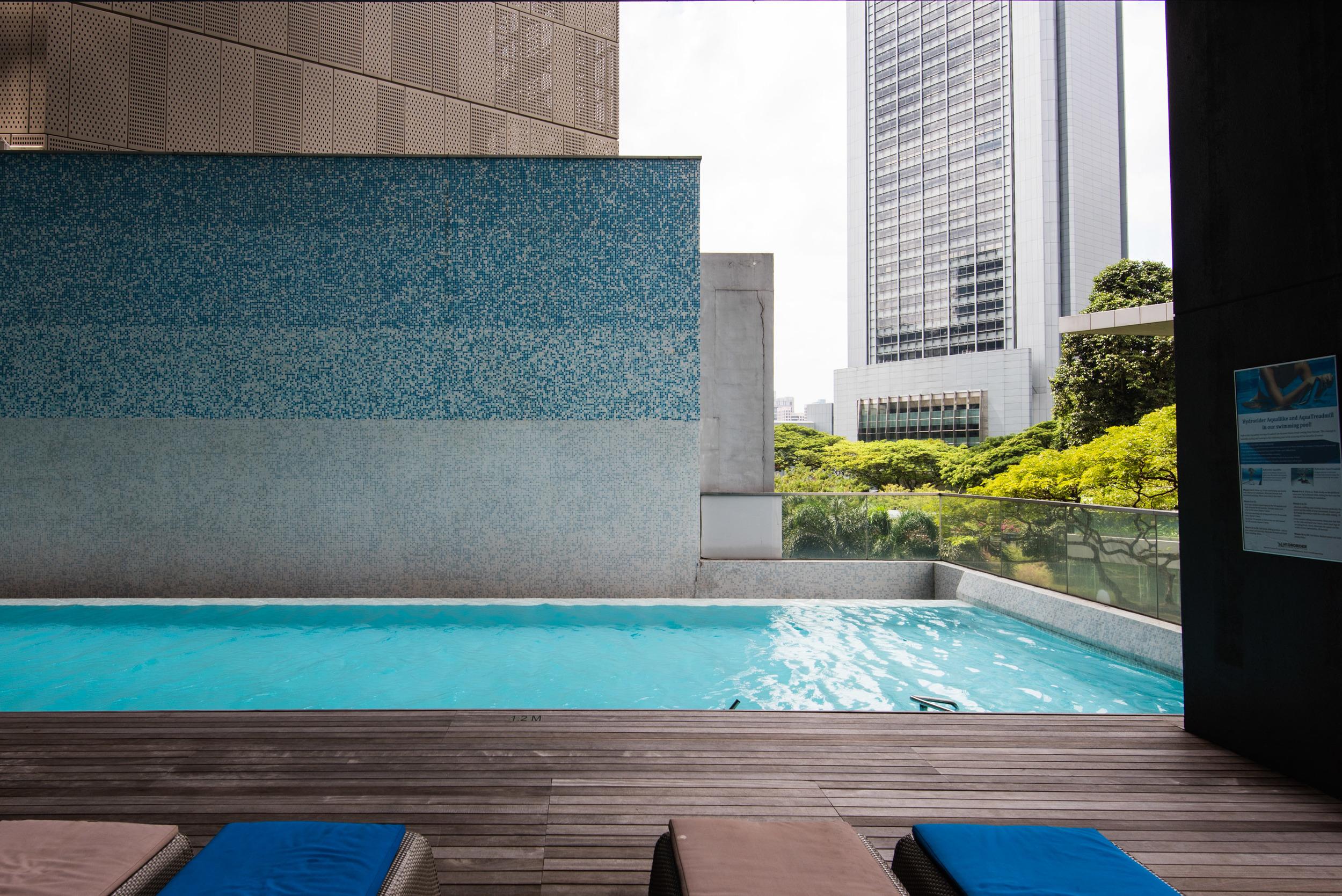Ionized Water Swimming Pool