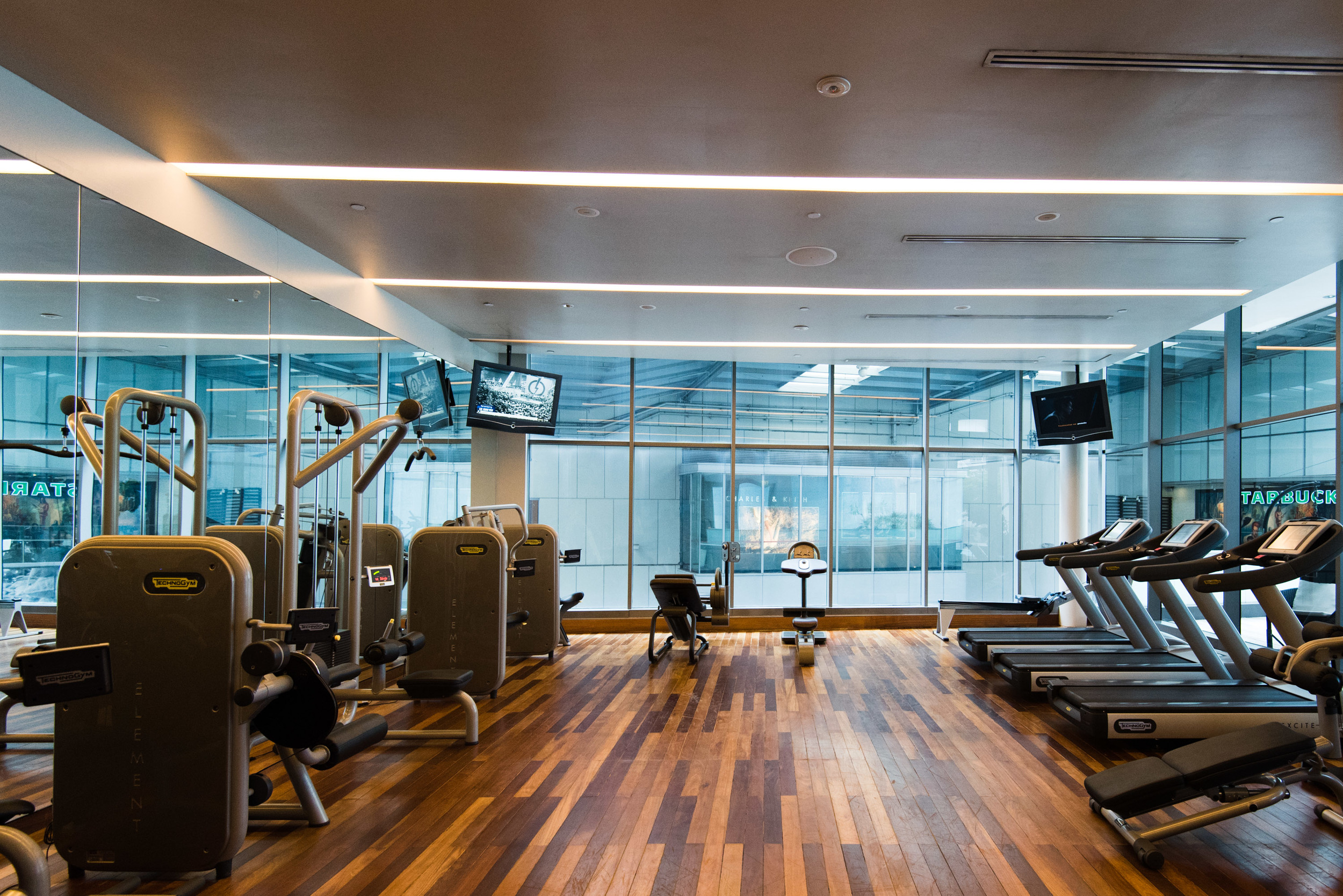 Fully-equipped Fitness Centre