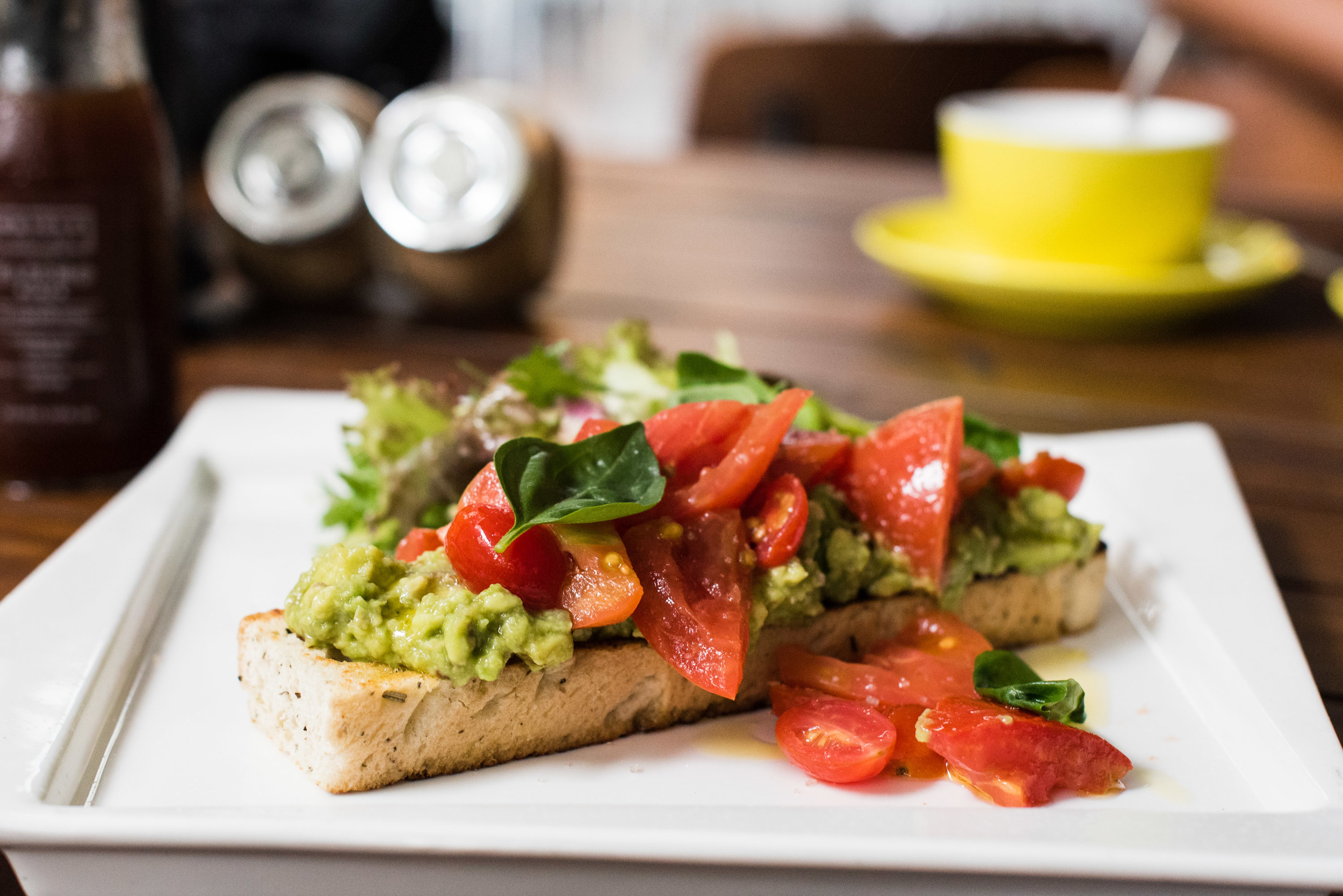 Delicious Breakfast and Brunch food at Oriole Coffee + Bar