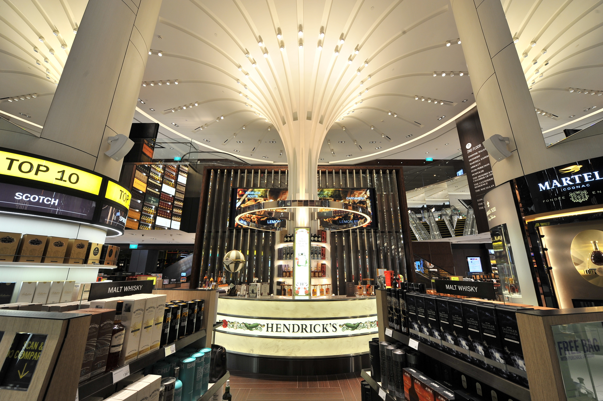 New DFS Flagship Store at Changi Airport   Photo Credit: Changi Airport Group