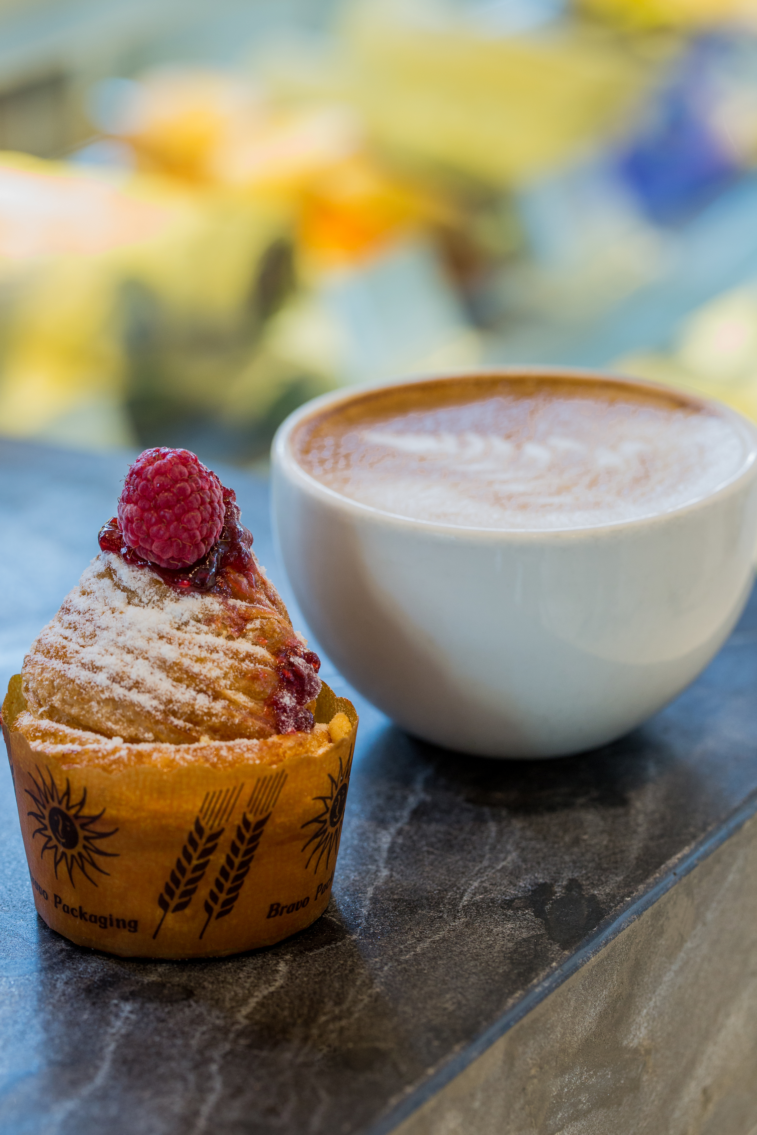 Cruffin and Coffee anyone?  | Photo Credit: Conrad Centennial Singapore