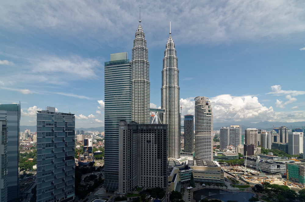 View from the Grand Hyatt Kuala Lumpur's Grand Suite