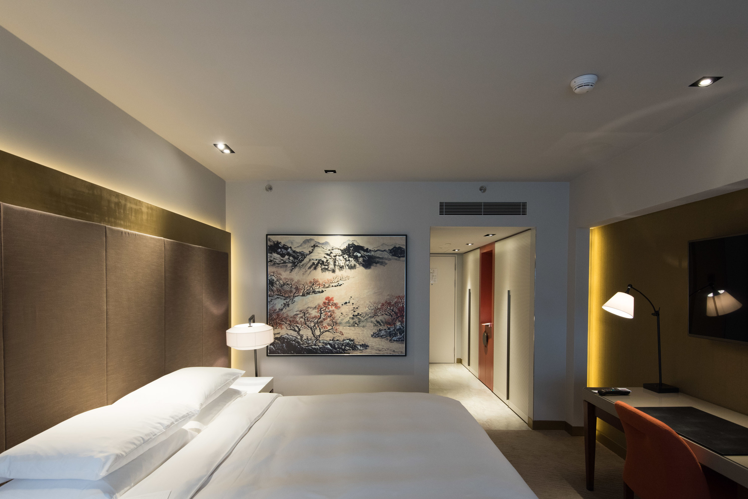Grand Deluxe Room - Grand Hyatt Taipei
