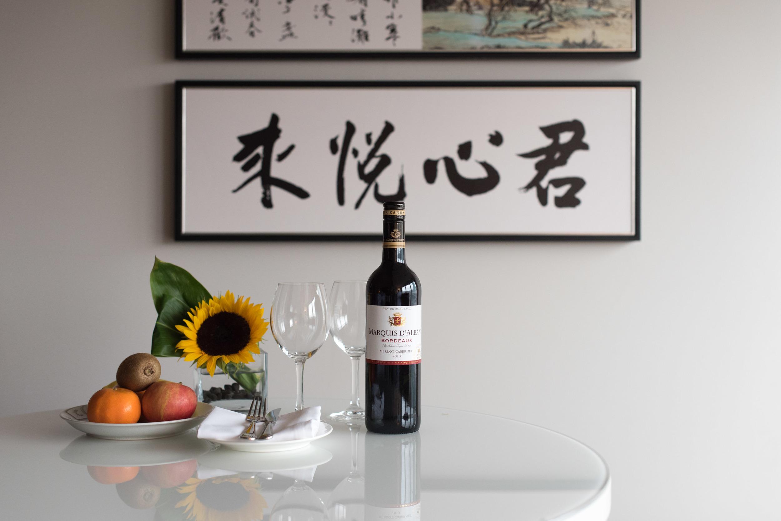 Welcome gift - Grand Hyatt Taipei