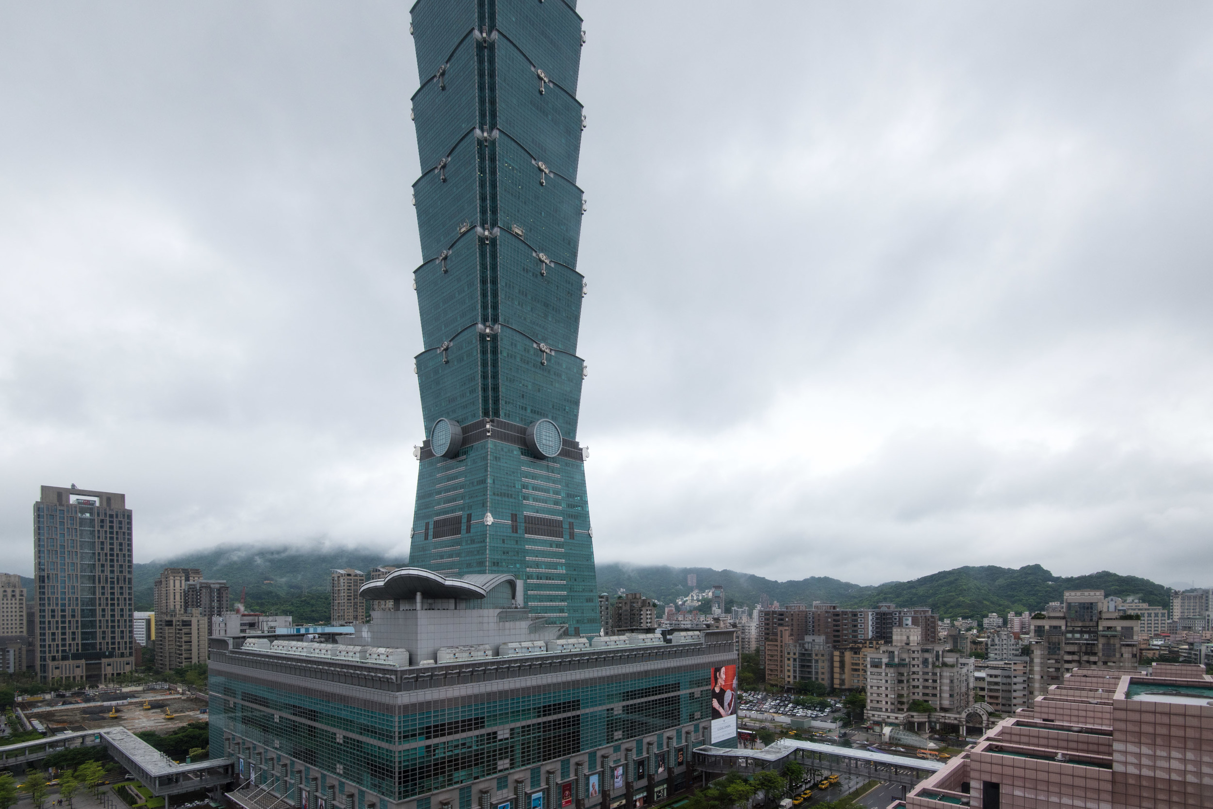 View from the Grand Deluxe Room - Grand Hyatt Taipei