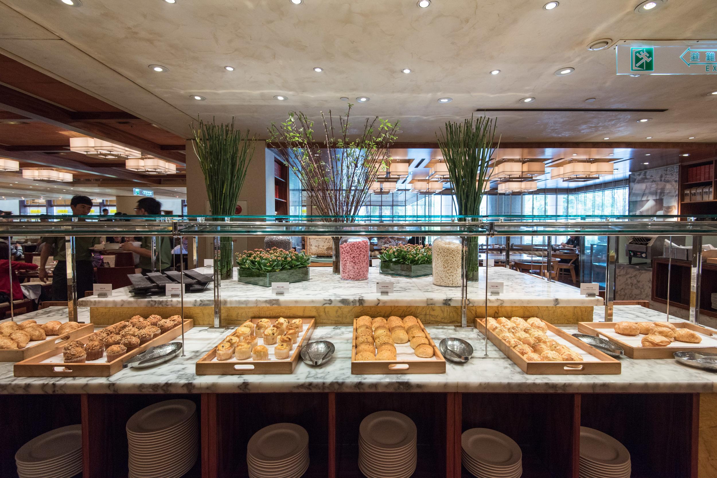 Selection of Pastries - Grand Hyatt Taipei