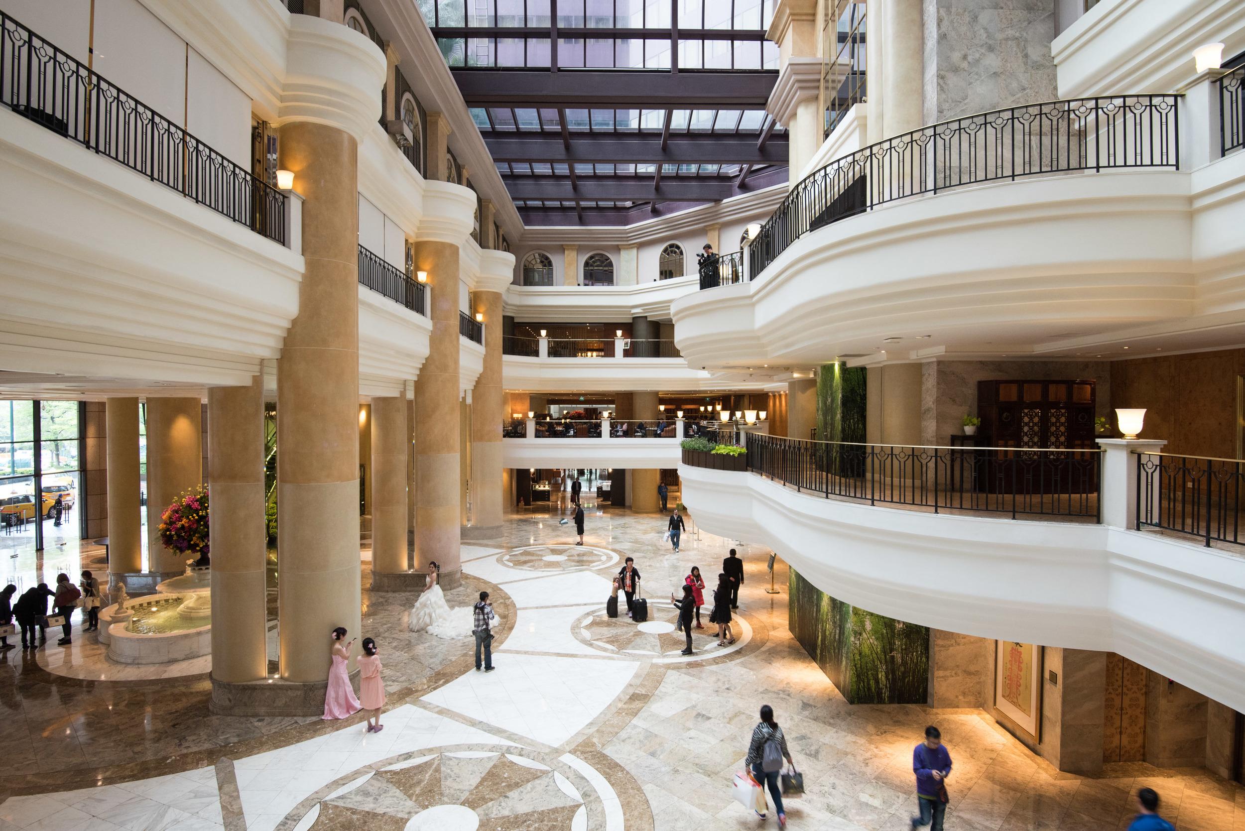 Beautiful Lobby - Grand Hyatt Taipei