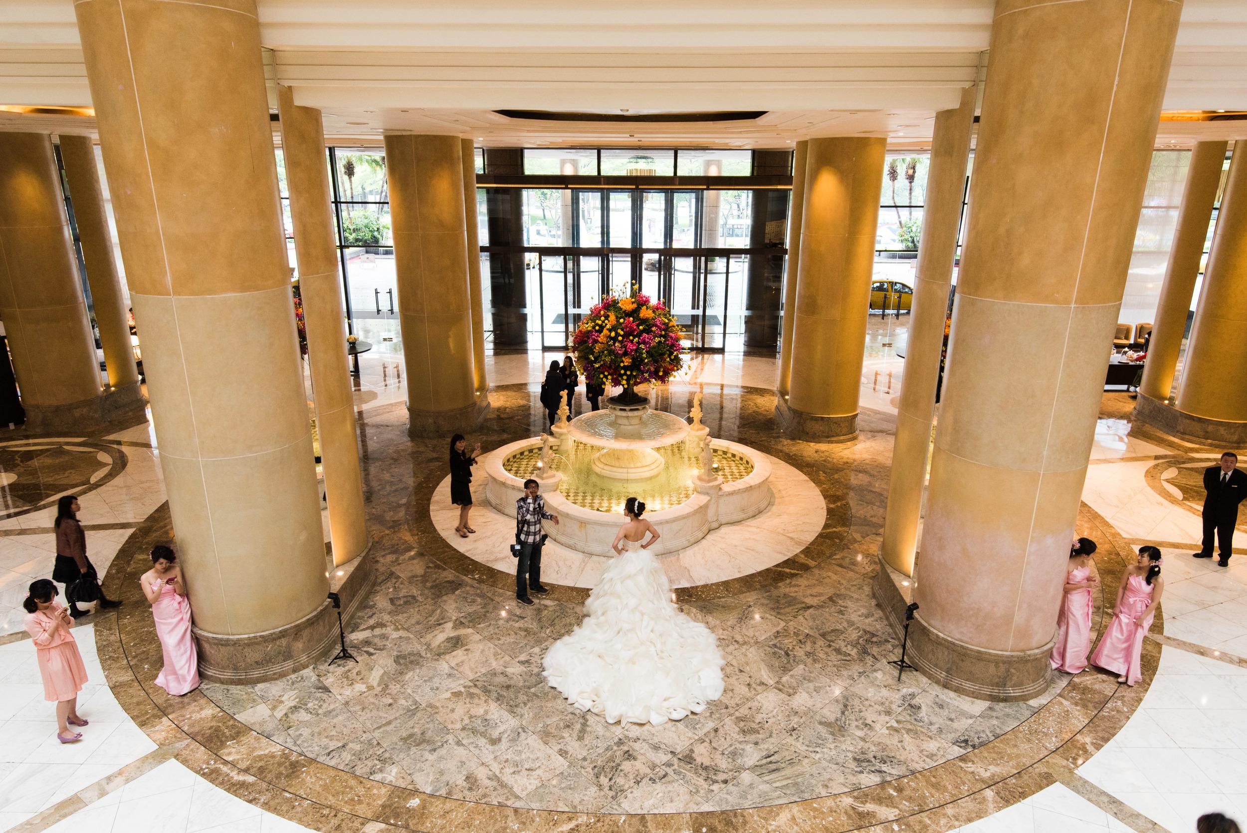 Popular Wedding Spot - Grand Hyatt Taipei