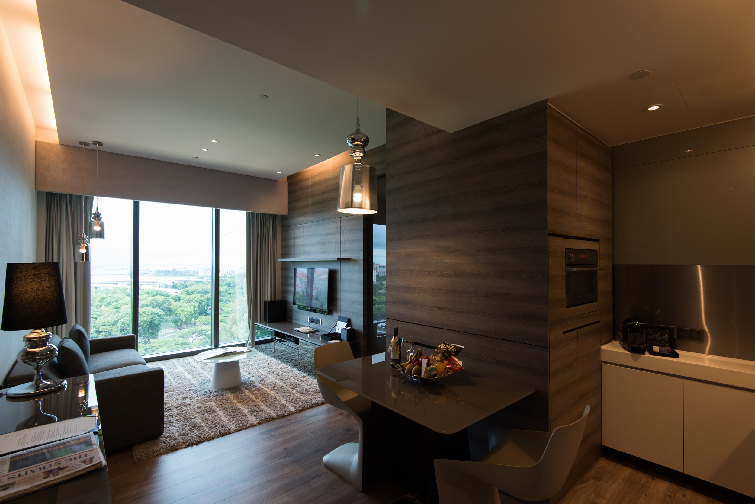One Bedroom Premium Suite of the Pan Pacific Serviced Suites Beach Road