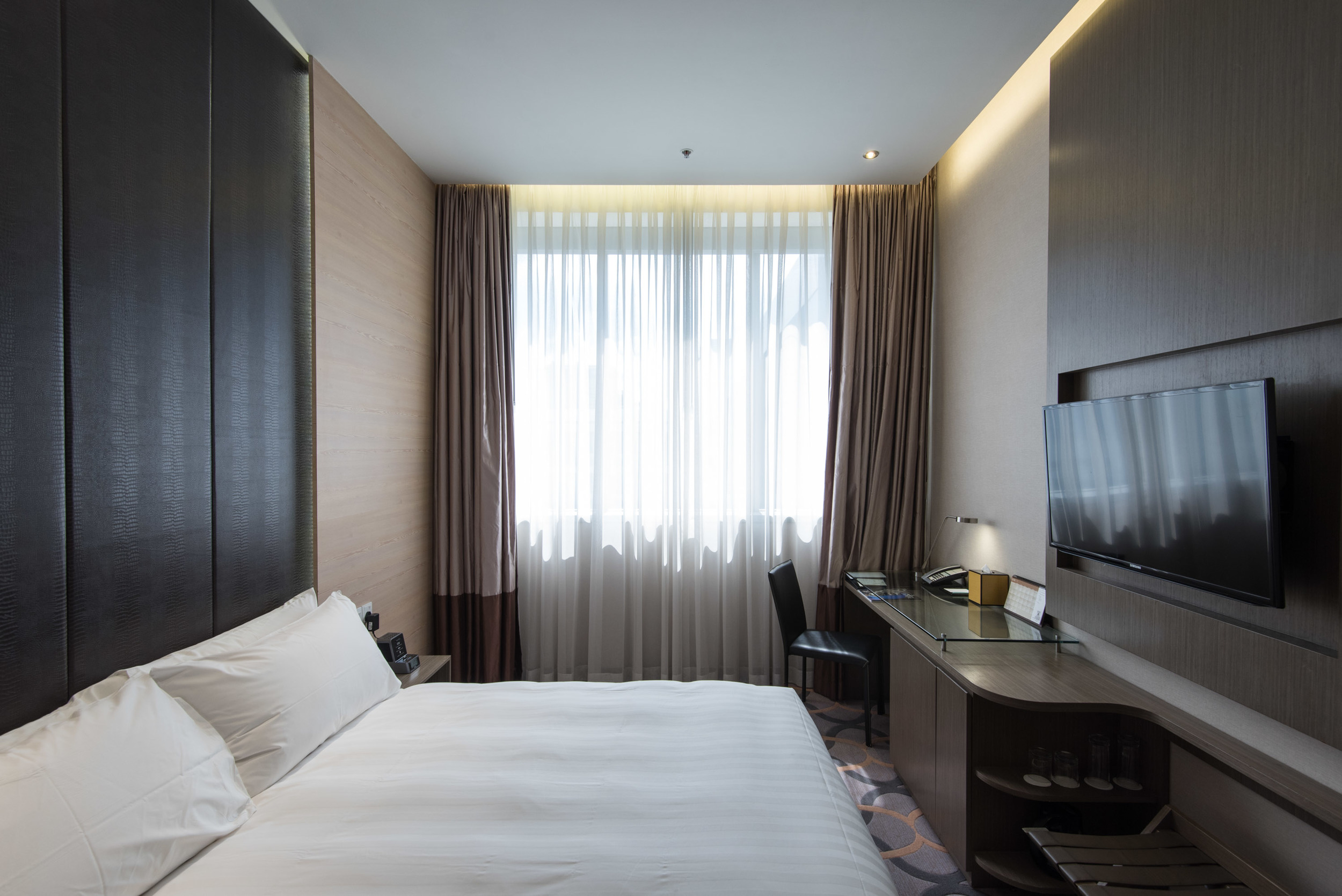 Comfortable Bedroom at the Dorsett Singapore