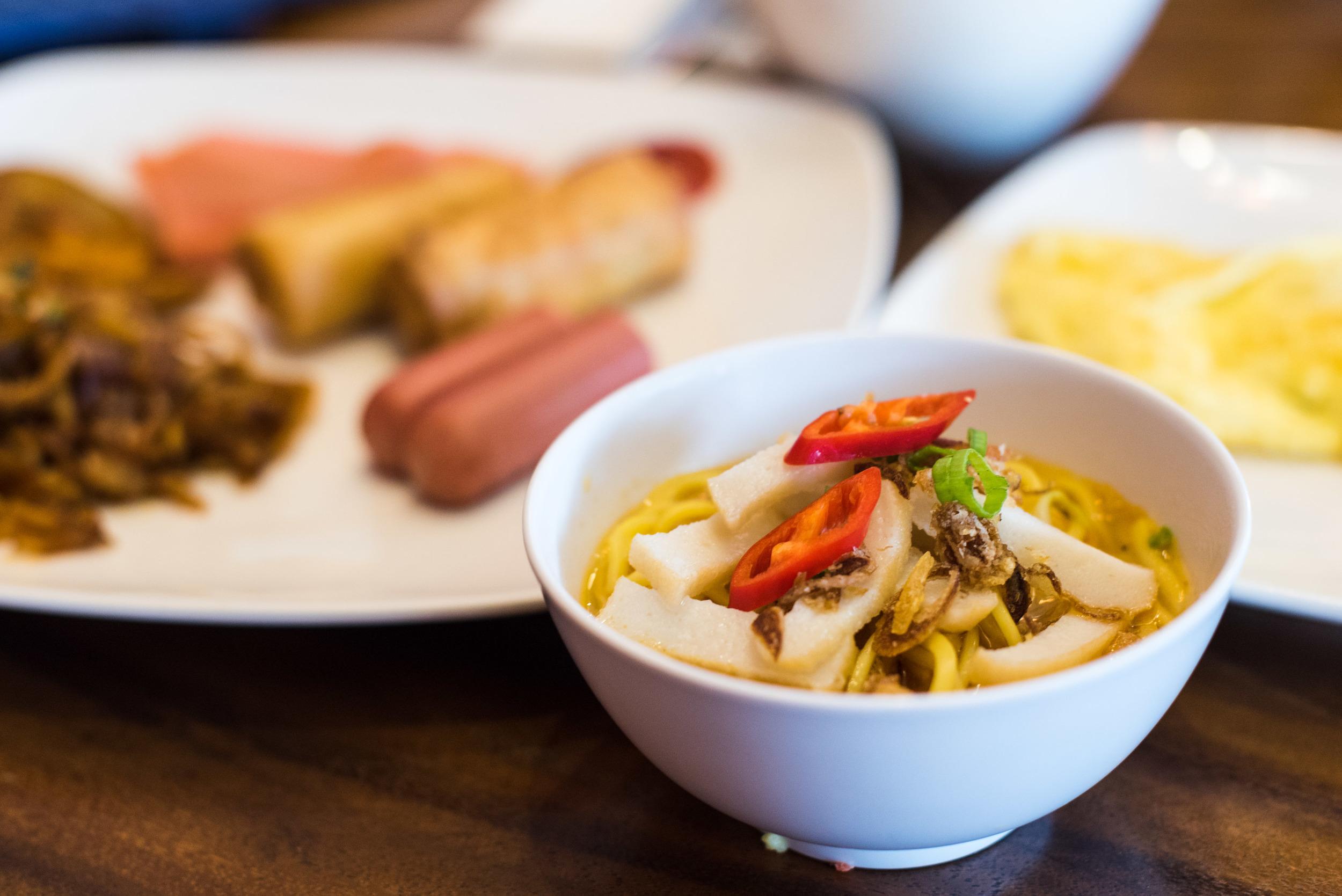 Breakfast at Pappasan (Dorsett Singapore)